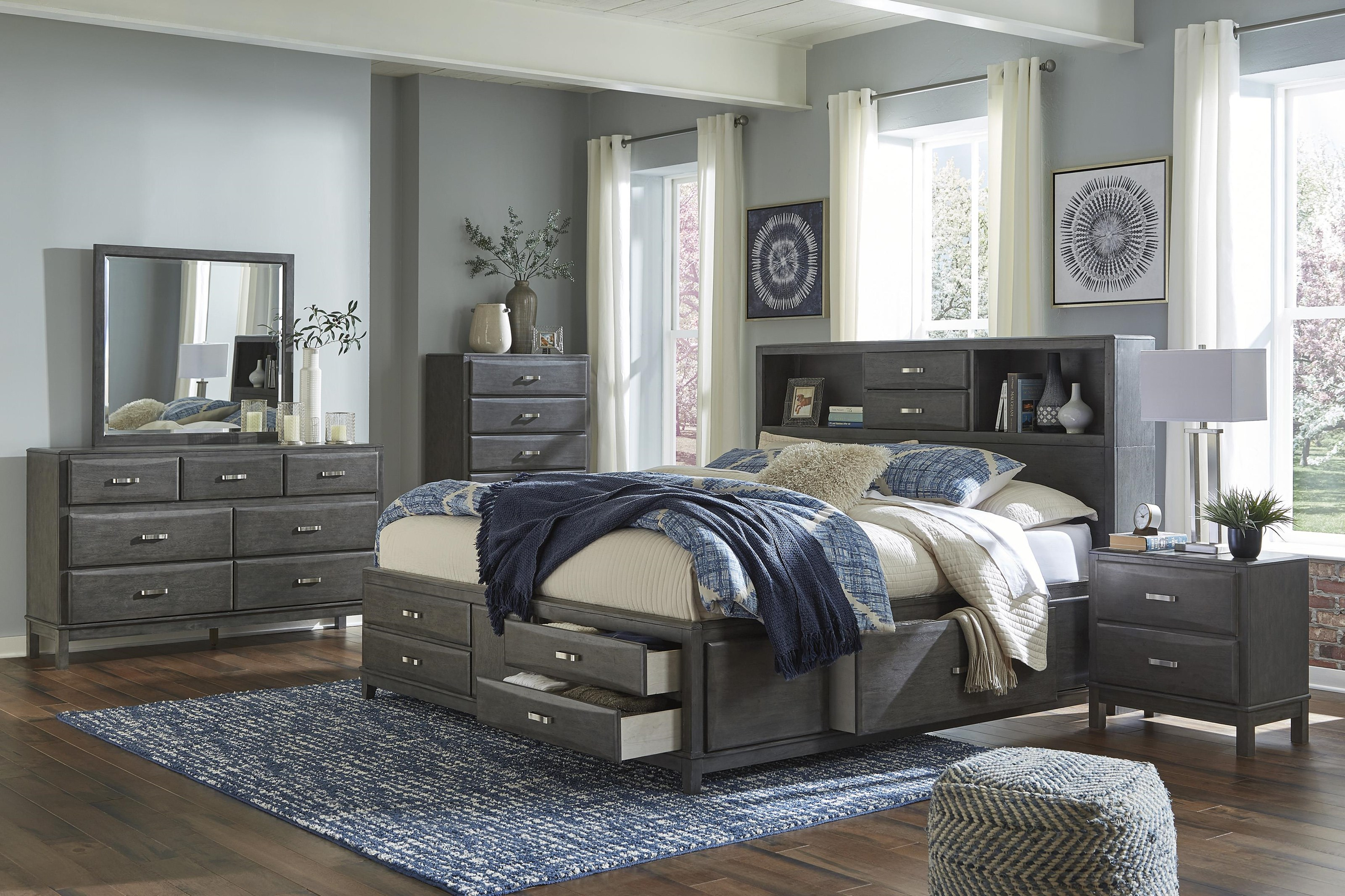 Caitbrook 5 Piece Queen Bedroom Group by Signature Design by Ashley at Value City Furniture