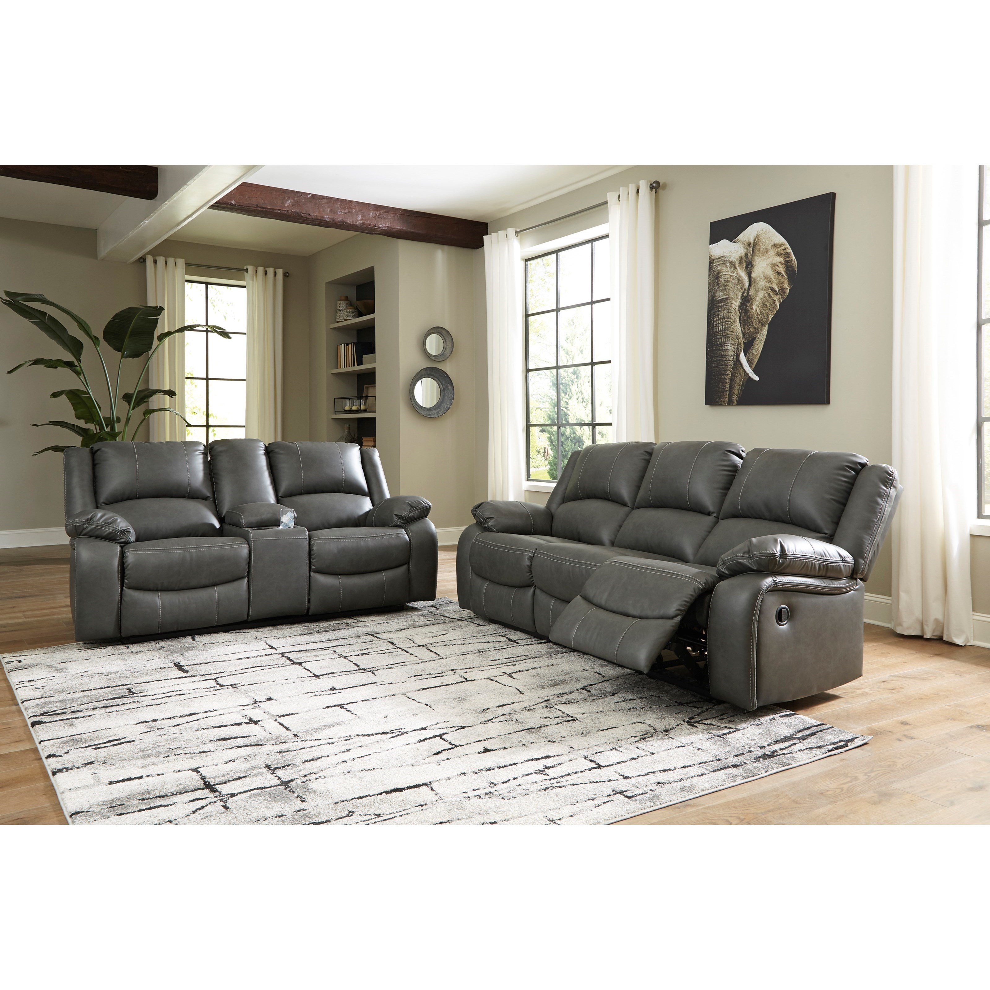 Calderwell Reclining Living Room Group by Signature Design by Ashley at Sam Levitz Outlet