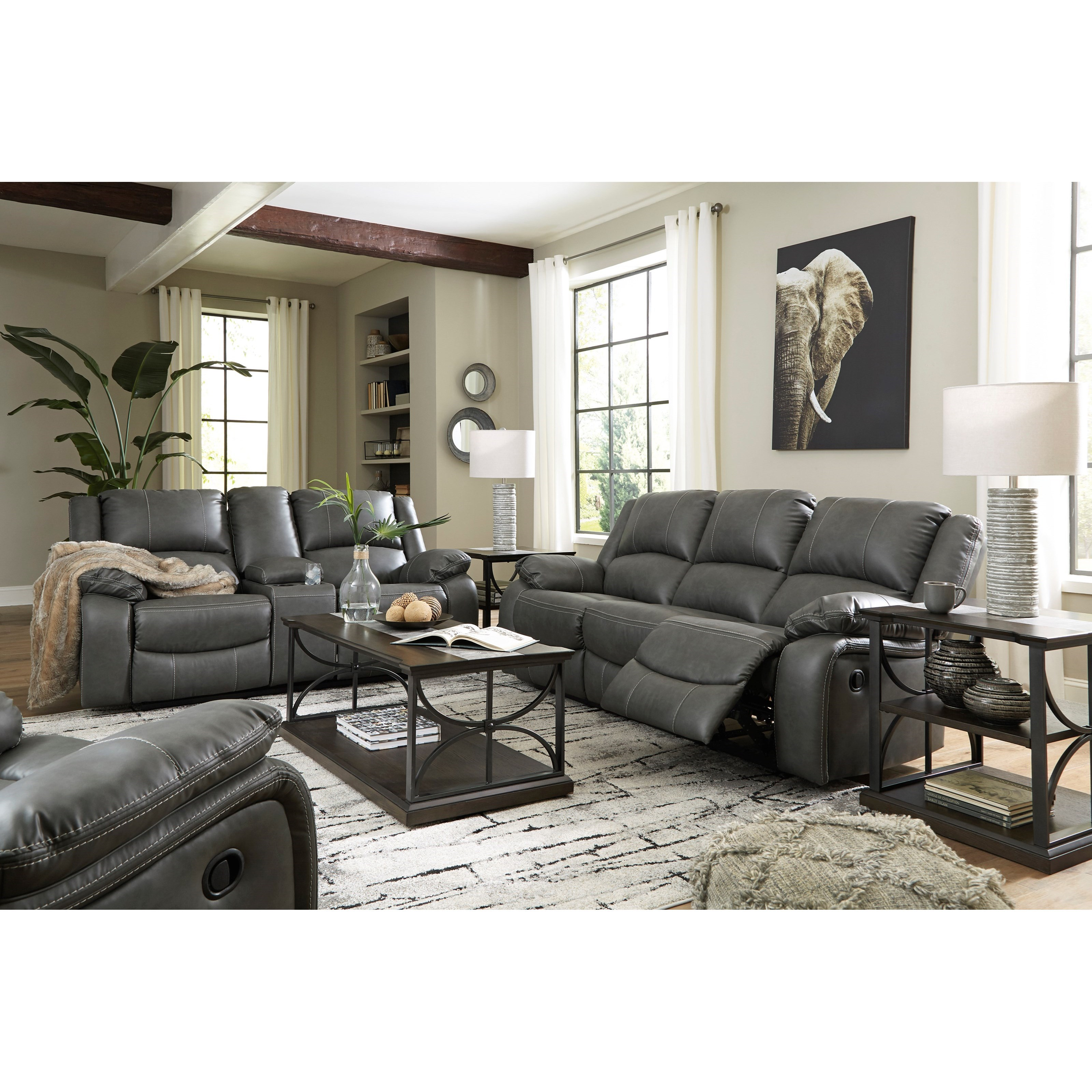 Calderwell Power Reclining Living Room Group by Signature Design by Ashley at Furniture Barn