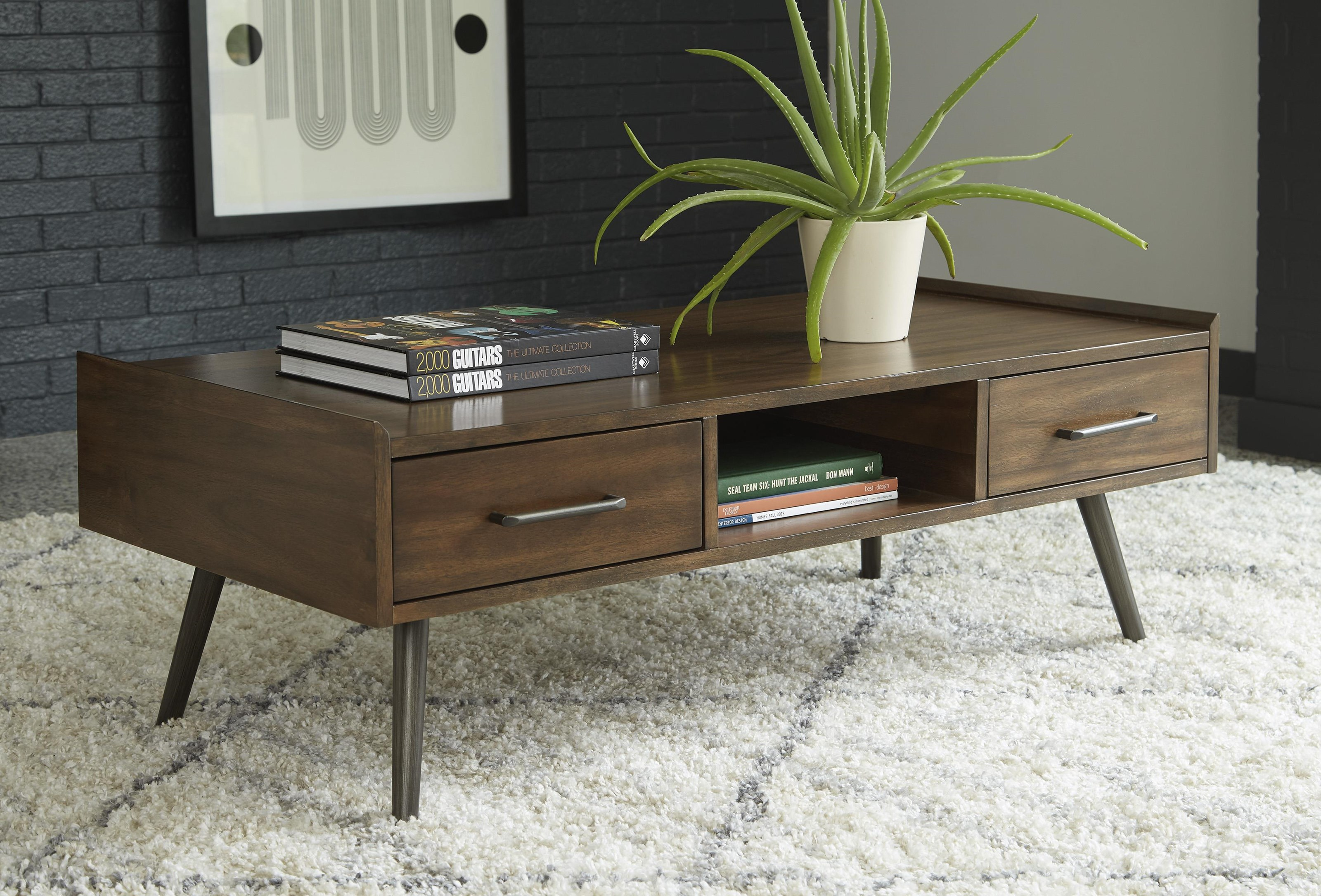Calmoni 3 Piece Coffee Table Set by Signature Design by Ashley at Sam Levitz Outlet