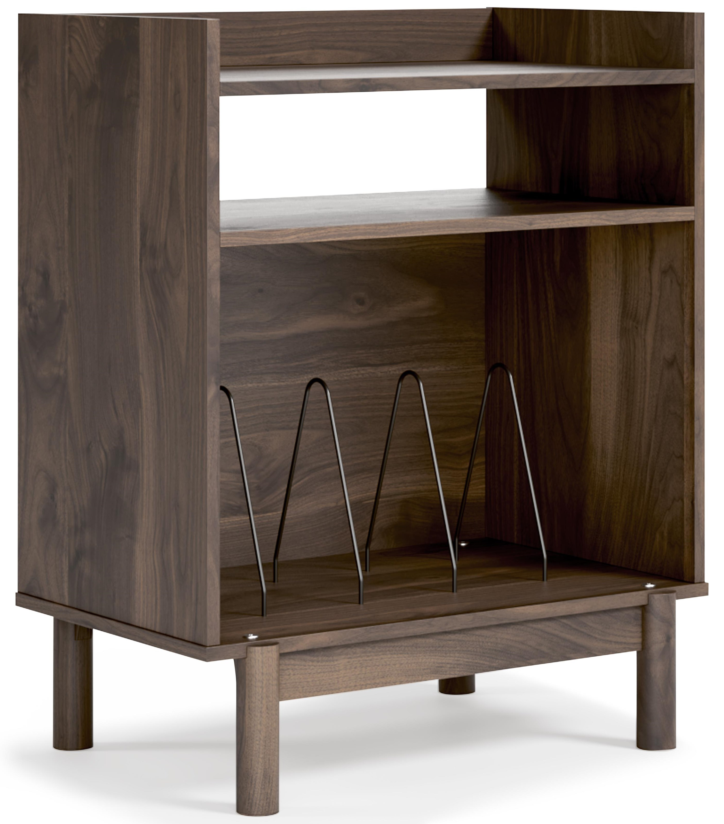 Calverson Turntable And Album Console by Signature Design by Ashley at Sam Levitz Furniture