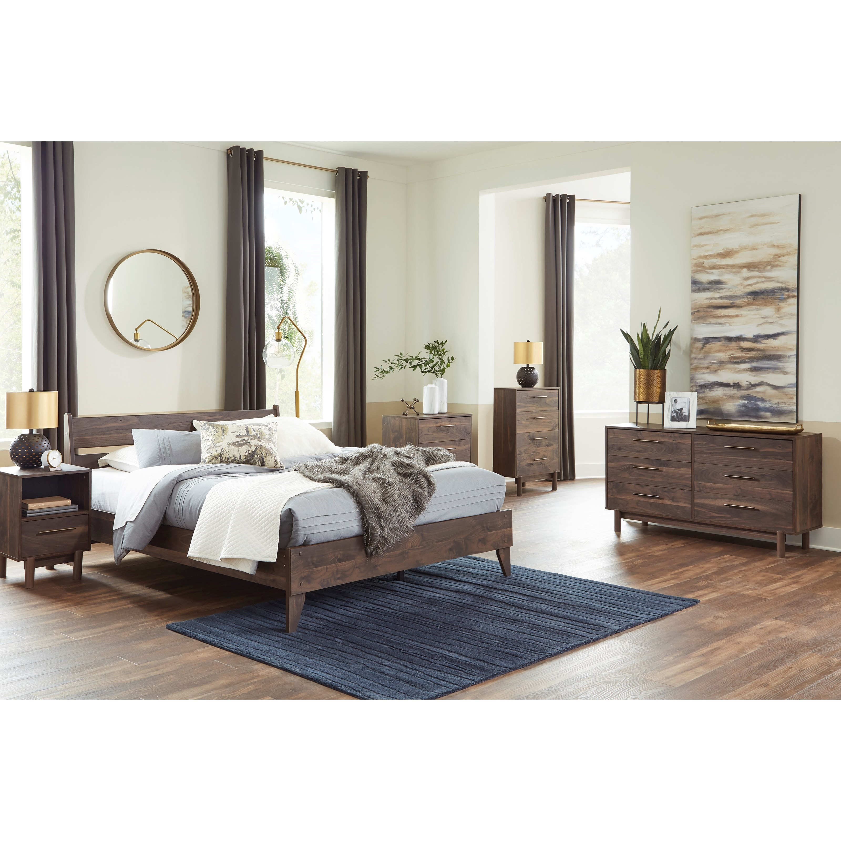 Calverson Full Bedroom Group  by Ashley (Signature Design) at Johnny Janosik