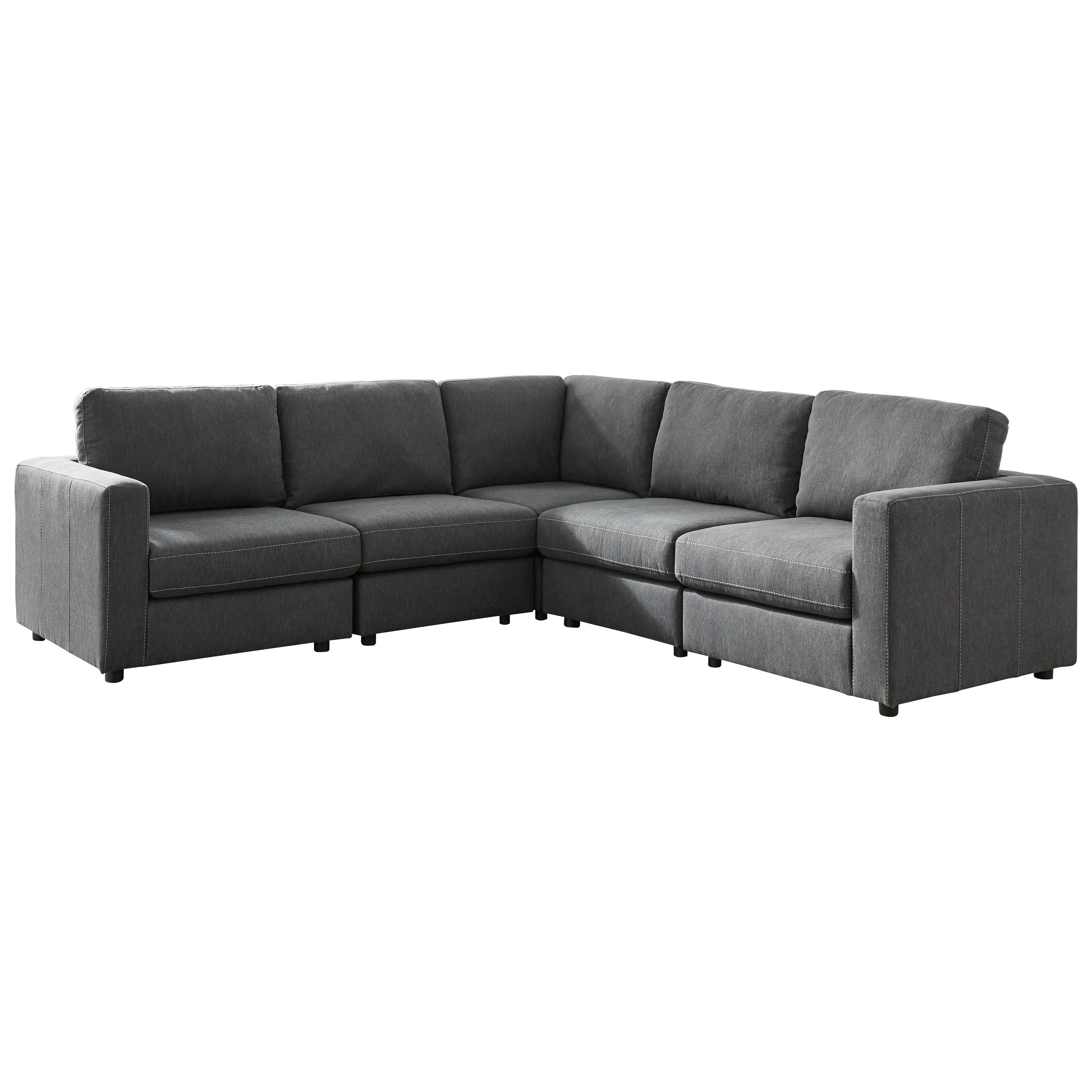 Candela L-Shape Sectional by Ashley (Signature Design) at Johnny Janosik