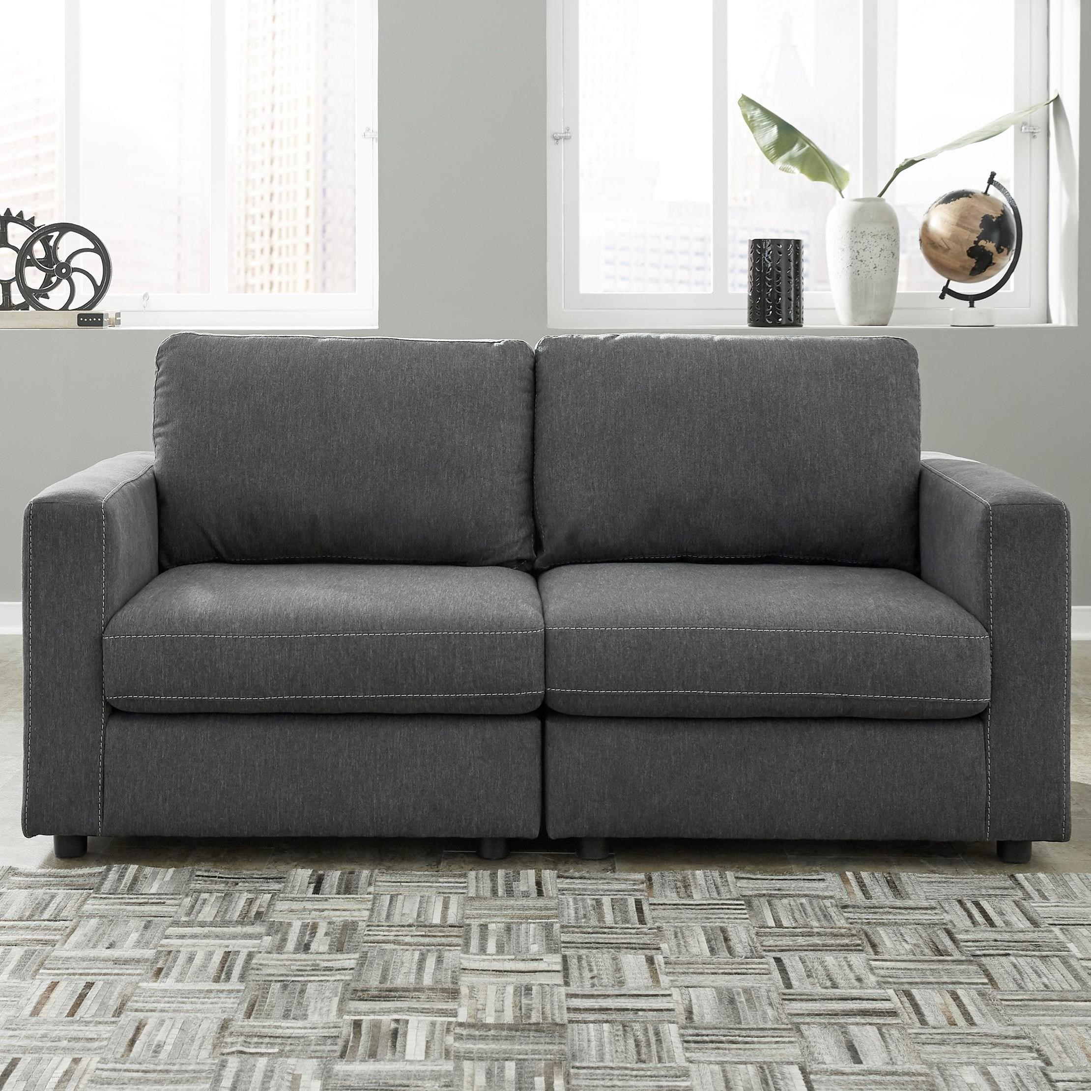 Candela Loveseat by Signature Design by Ashley at Household Furniture