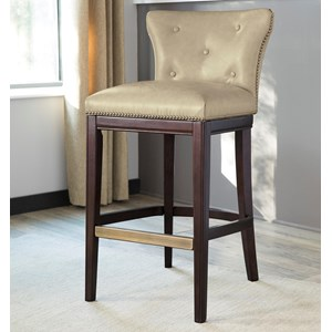 Signature Design by Ashley Canidelli Tall Upholstered Barstool