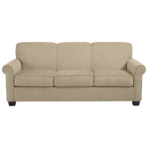 Queen Sofa Sleeper with Casual Style