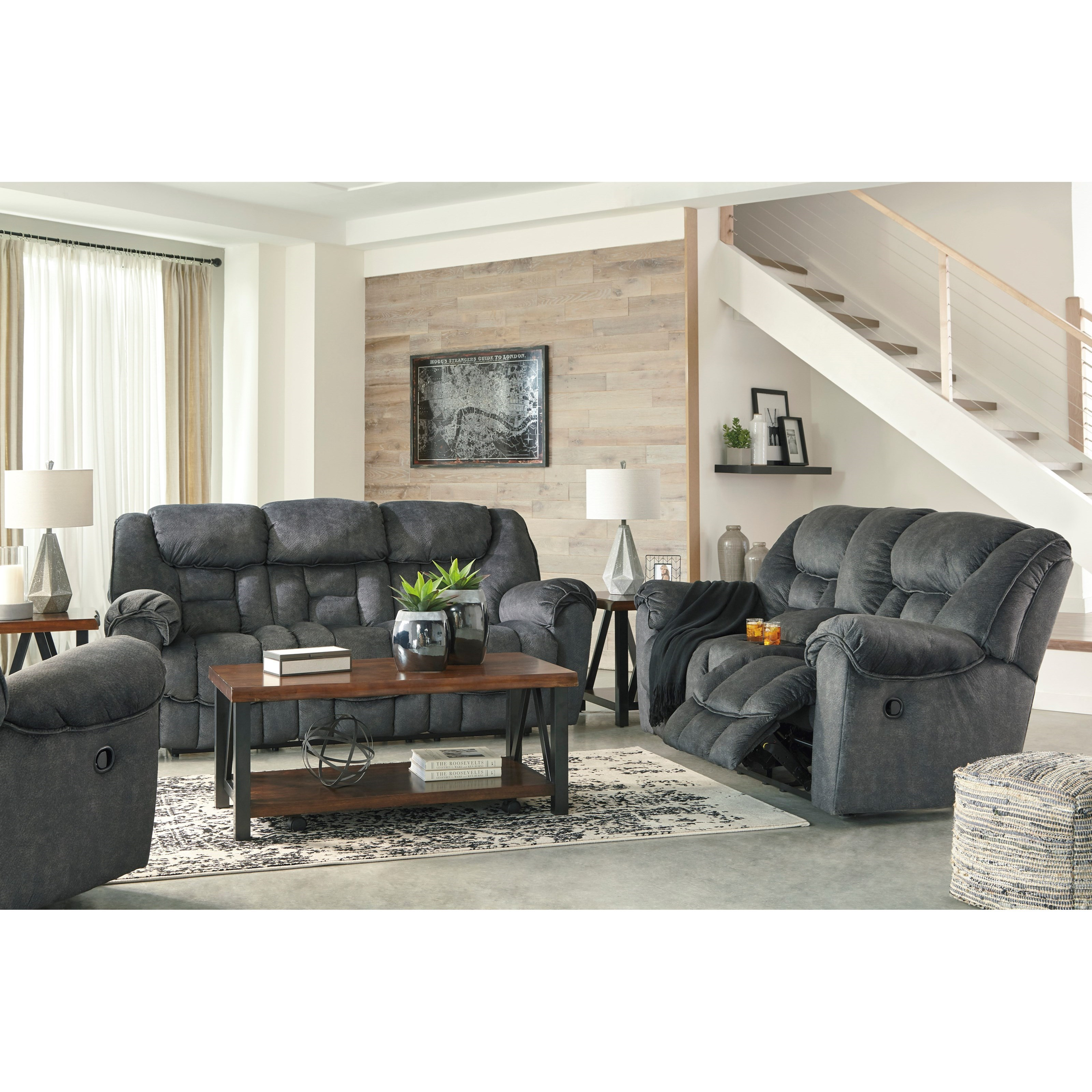 Capehorn Reclining Living Room Group by Signature Design by Ashley at Prime Brothers Furniture