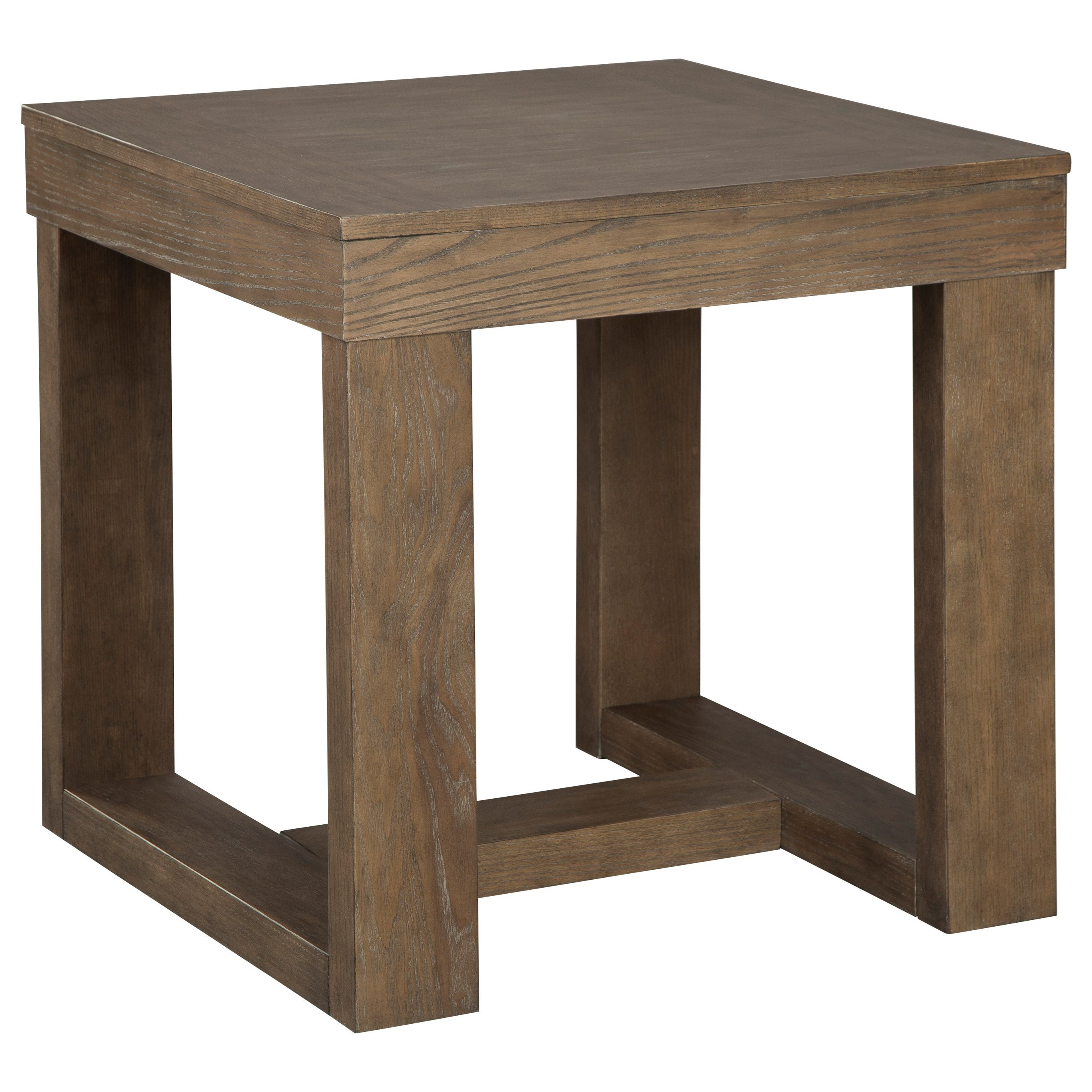 Cariton Square End Table by Ashley (Signature Design) at Johnny Janosik