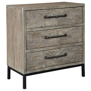 Contemporary 3 Drawer Accent Chest