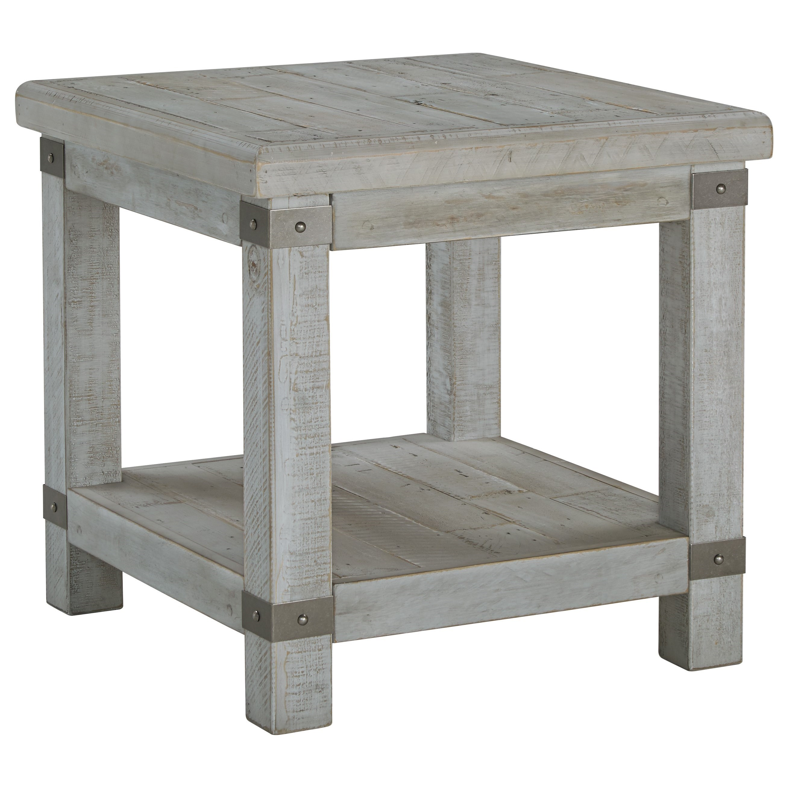 Carynhurst Rectangular End Table by Signature Design by Ashley at Northeast Factory Direct