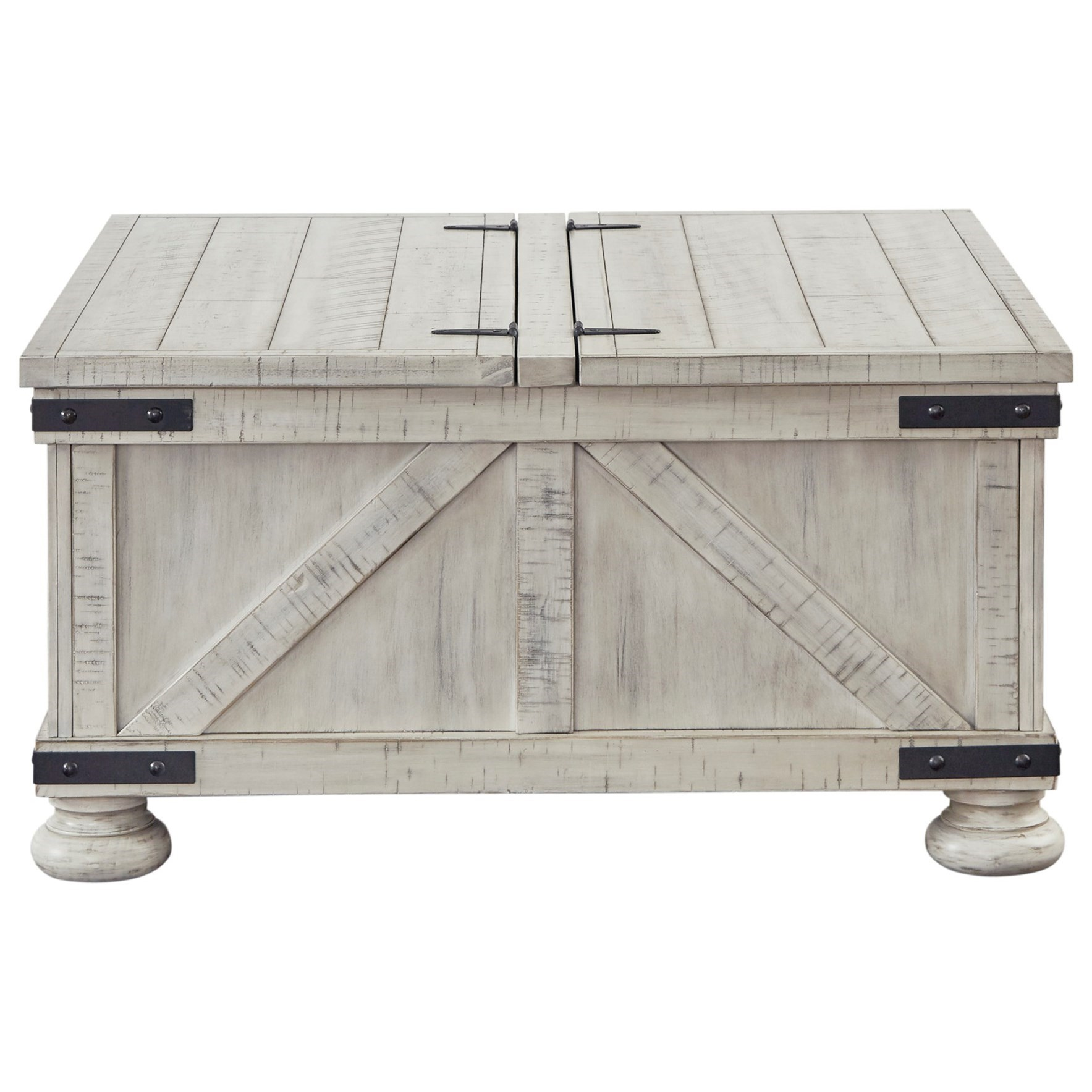 Carynhurst Coffee Table by Signature Design by Ashley at Houston's Yuma Furniture