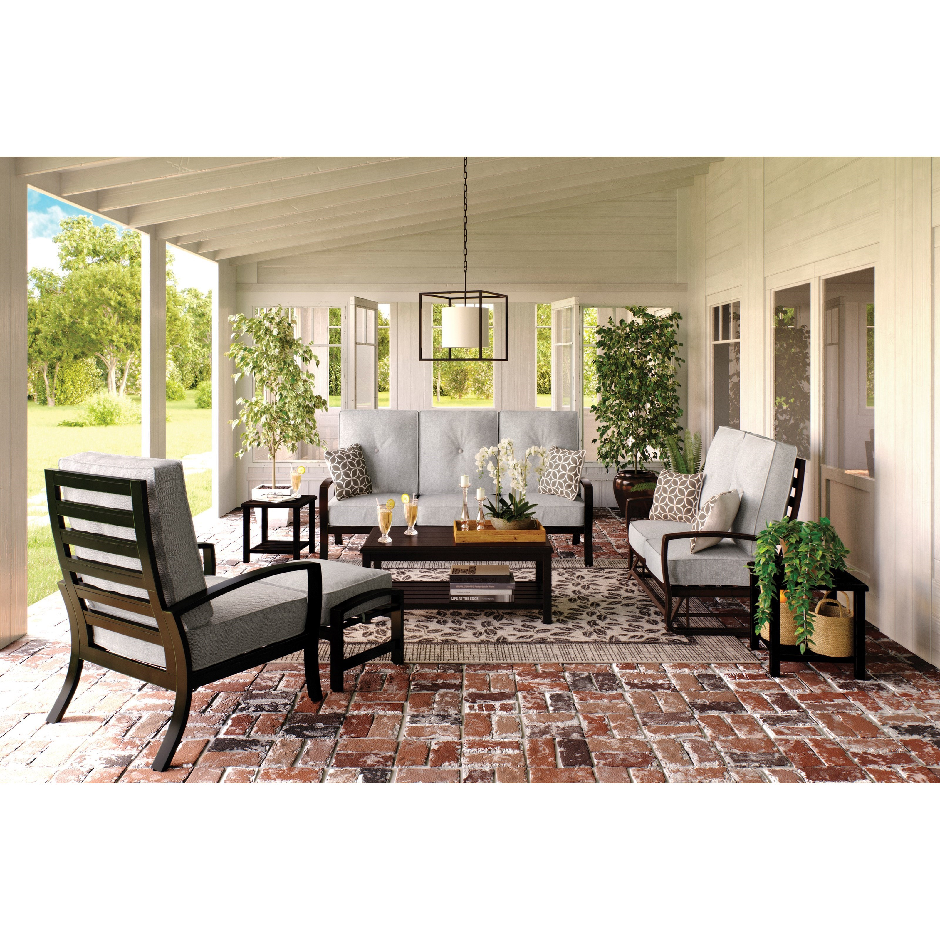 Castle Island Outdoor Conversation Set by Signature Design at Fisher Home Furnishings