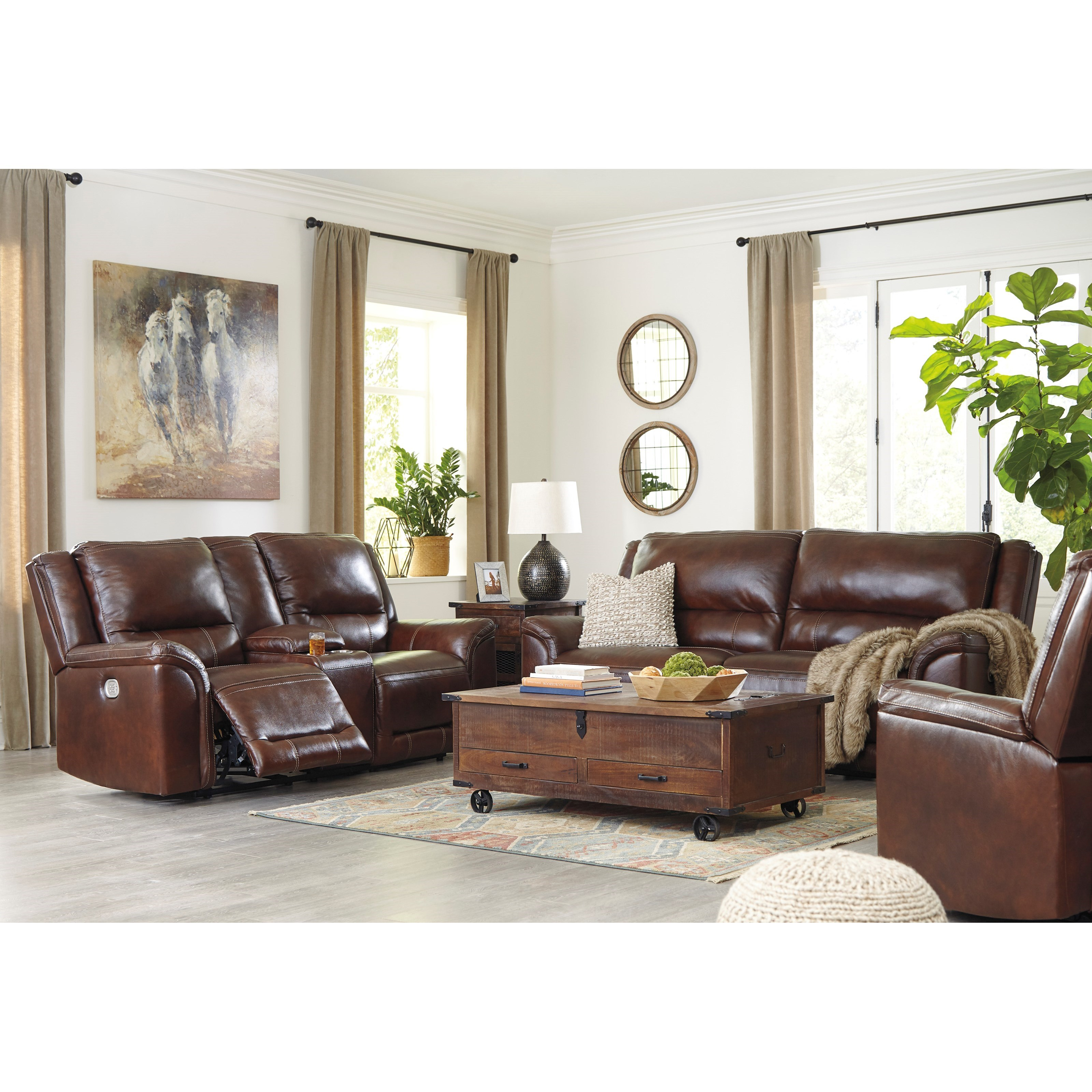 Catanzaro Reclining Living Room Group by Signature Design by Ashley at Northeast Factory Direct