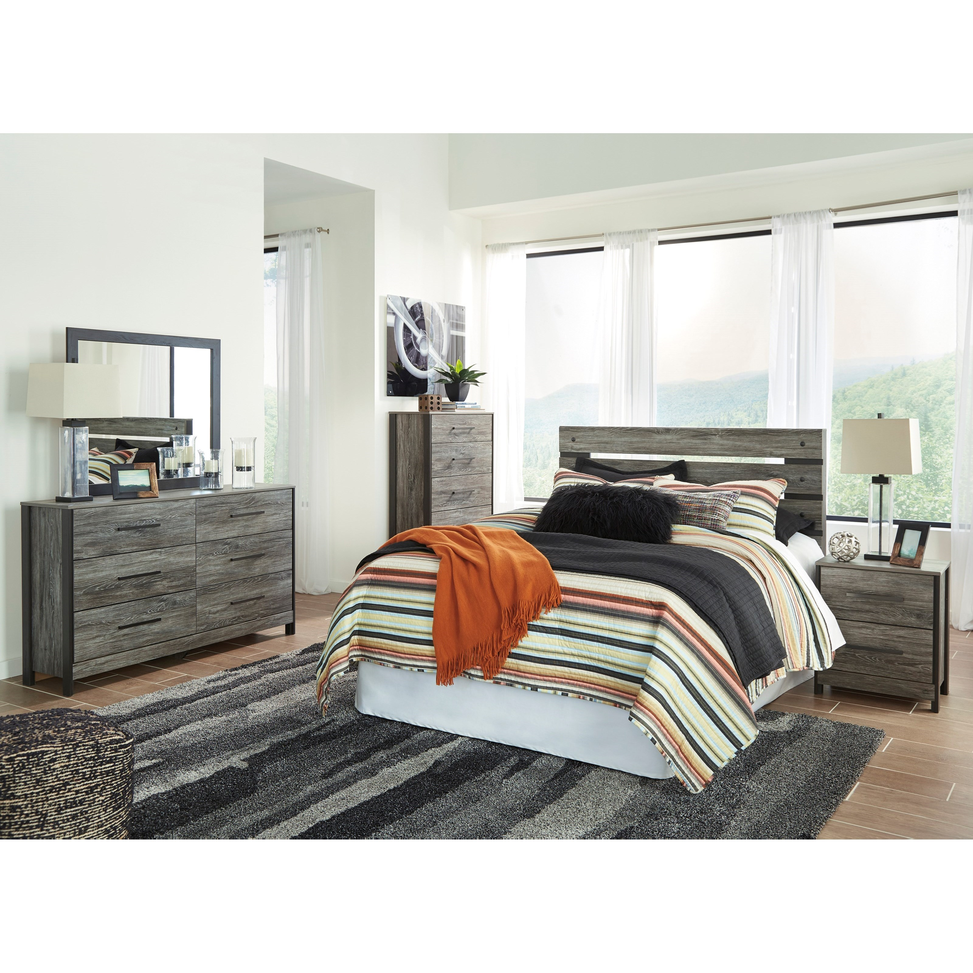 Cazenfeld 5pc Queen Bedroom Set by Signature Design by Ashley at Value City Furniture