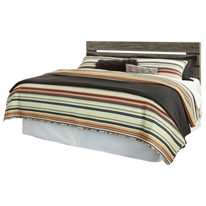 King/California King Panel Headboard with Open Slats
