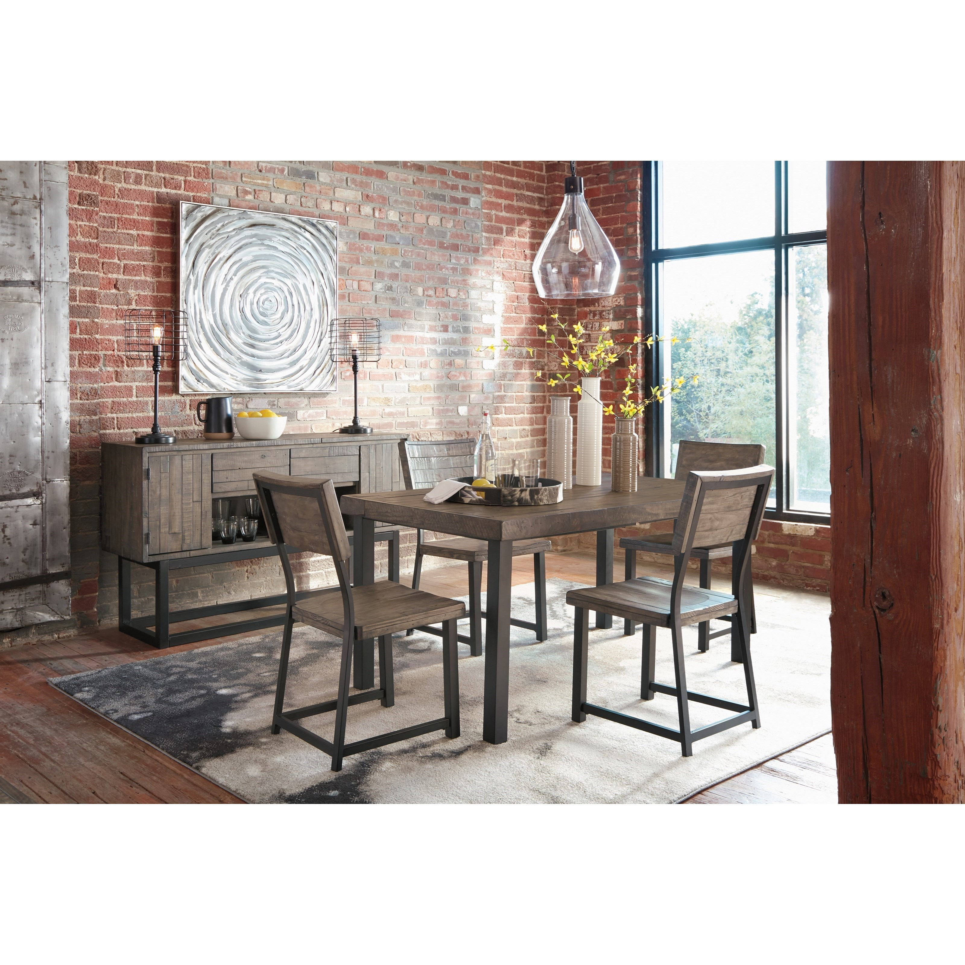 Cazentine Casual Dining Room Group by Signature Design by Ashley at Lapeer Furniture & Mattress Center