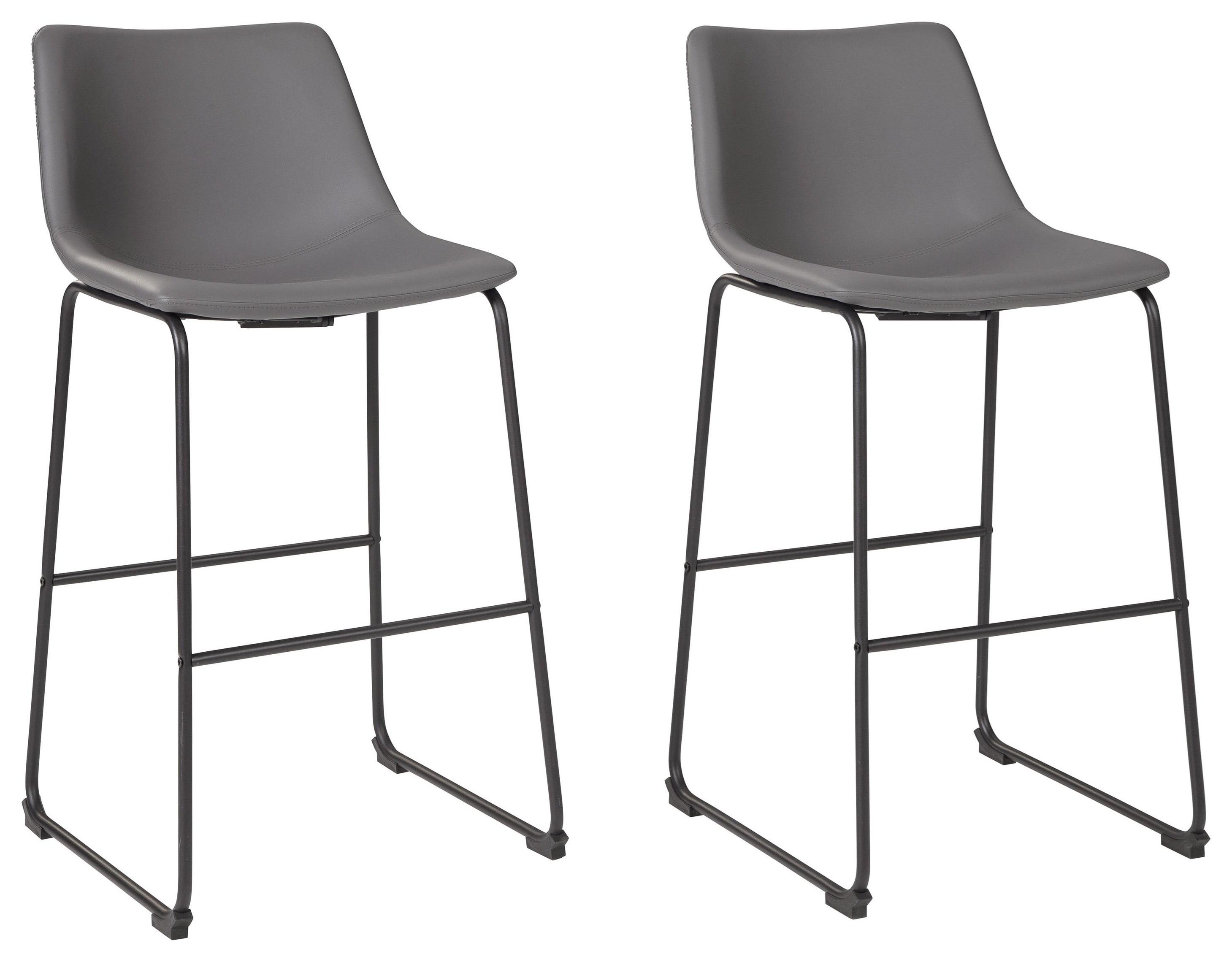 """2 30"""" Upholstered Bar Stool Set"""