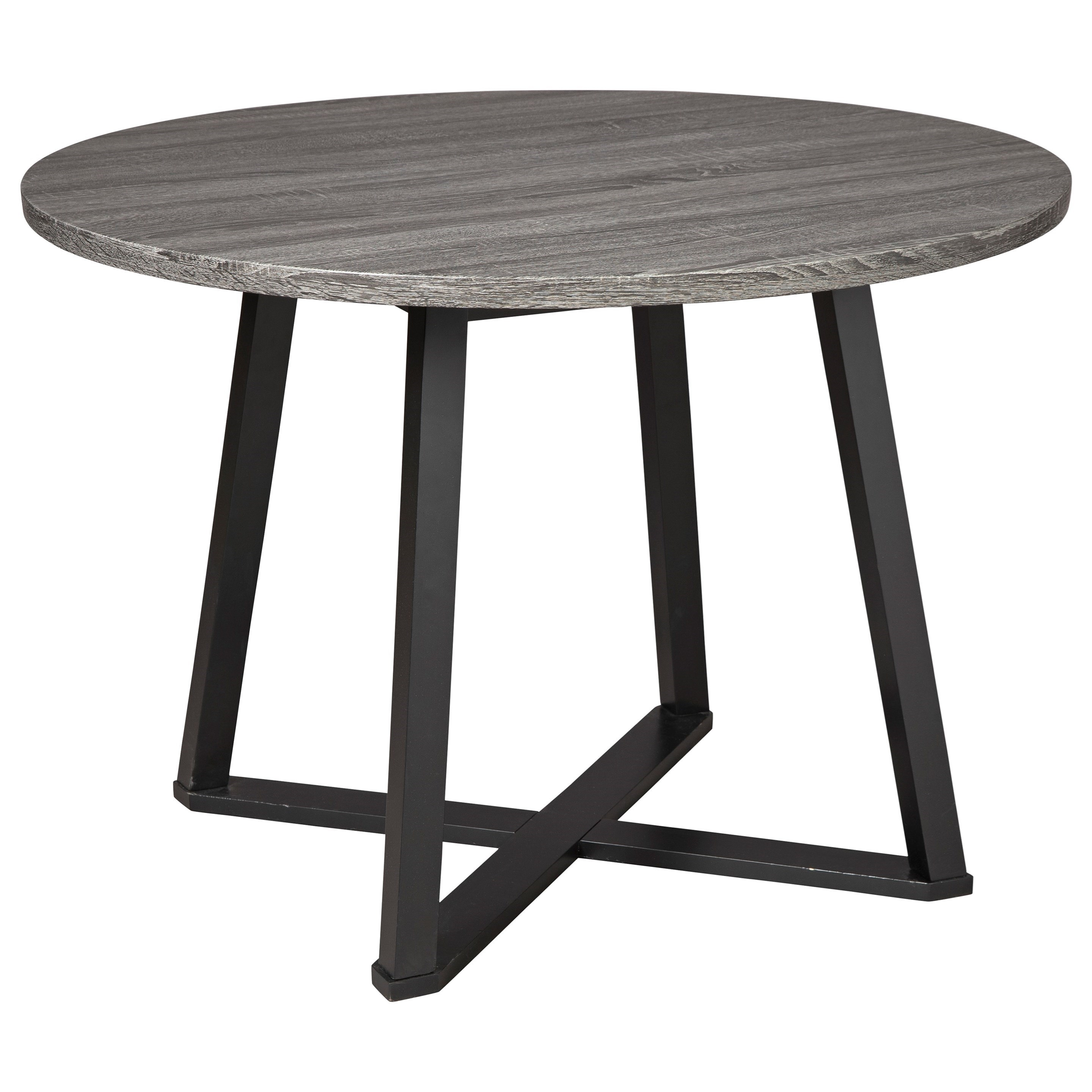 Centiar Round Dining Room Table by Signature Design by Ashley at Northeast Factory Direct