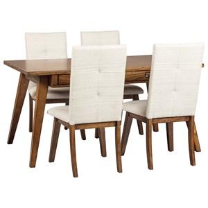 5-Piece Rectangular Dining Room Set
