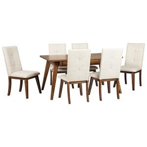 7-Piece Rectangular Dining Room Set