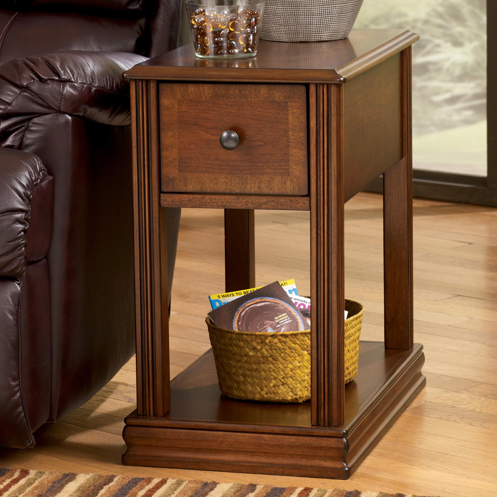 Breegin Chairside End Table by Signature Design by Ashley at Beds N Stuff