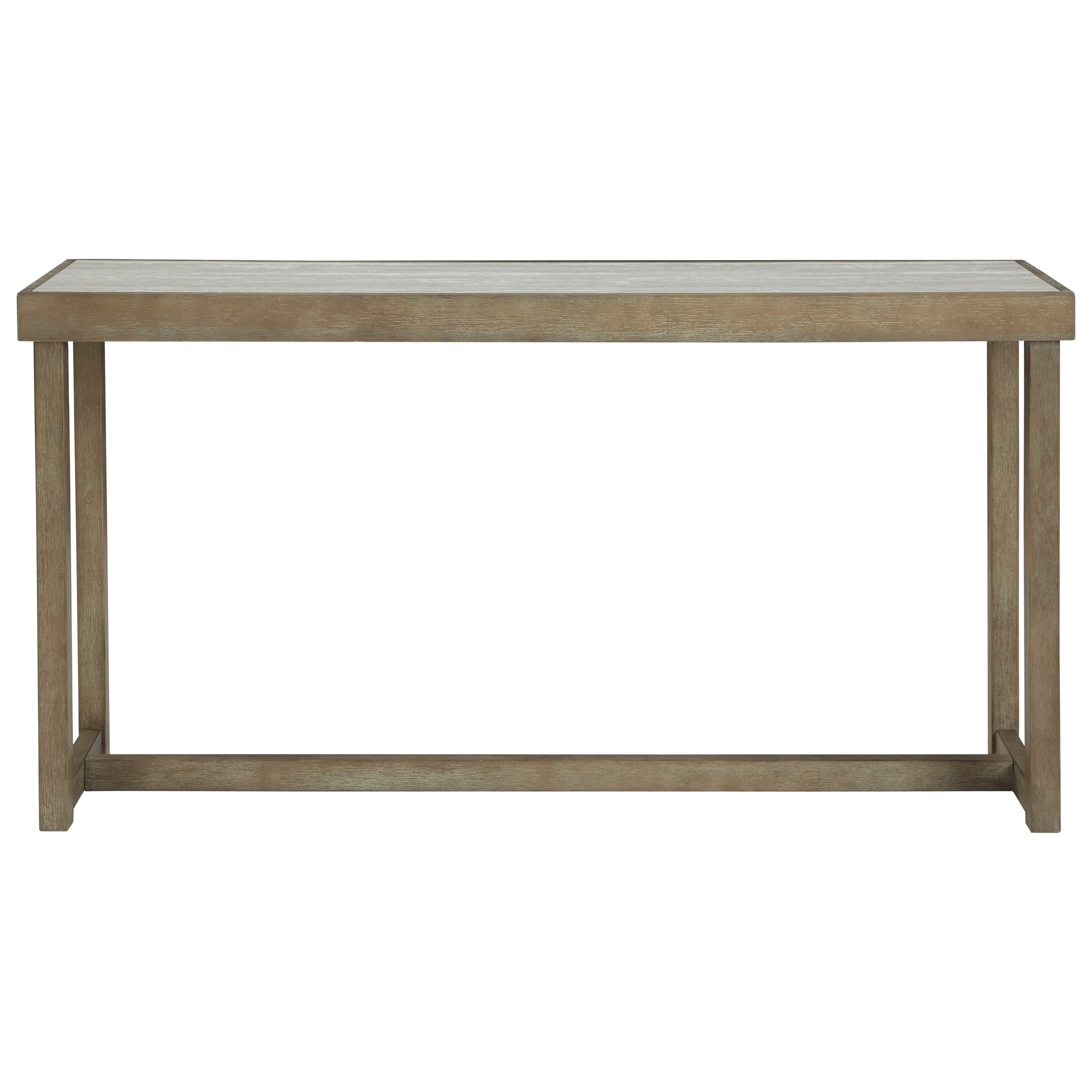 Challene Sofa Table by Signature Design by Ashley at Prime Brothers Furniture