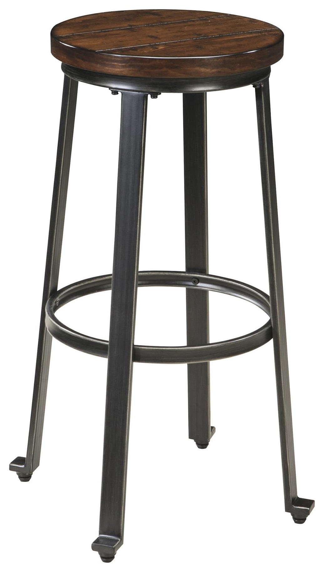 """Challiman 30"""" Stool by Signature Design by Ashley at Sam Levitz Furniture"""