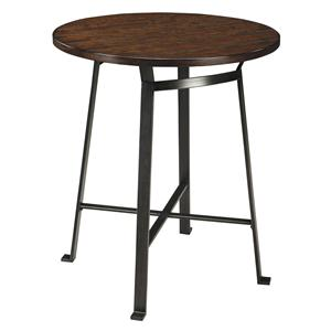 Industrial Style Round Dining Room Bar Table