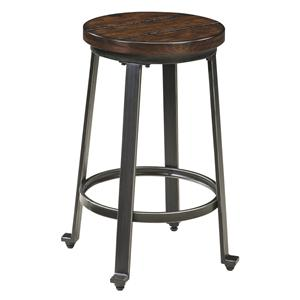 Industrial Style Armless Stool