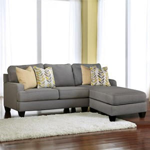Modern 2-Piece Sectional with Chaise