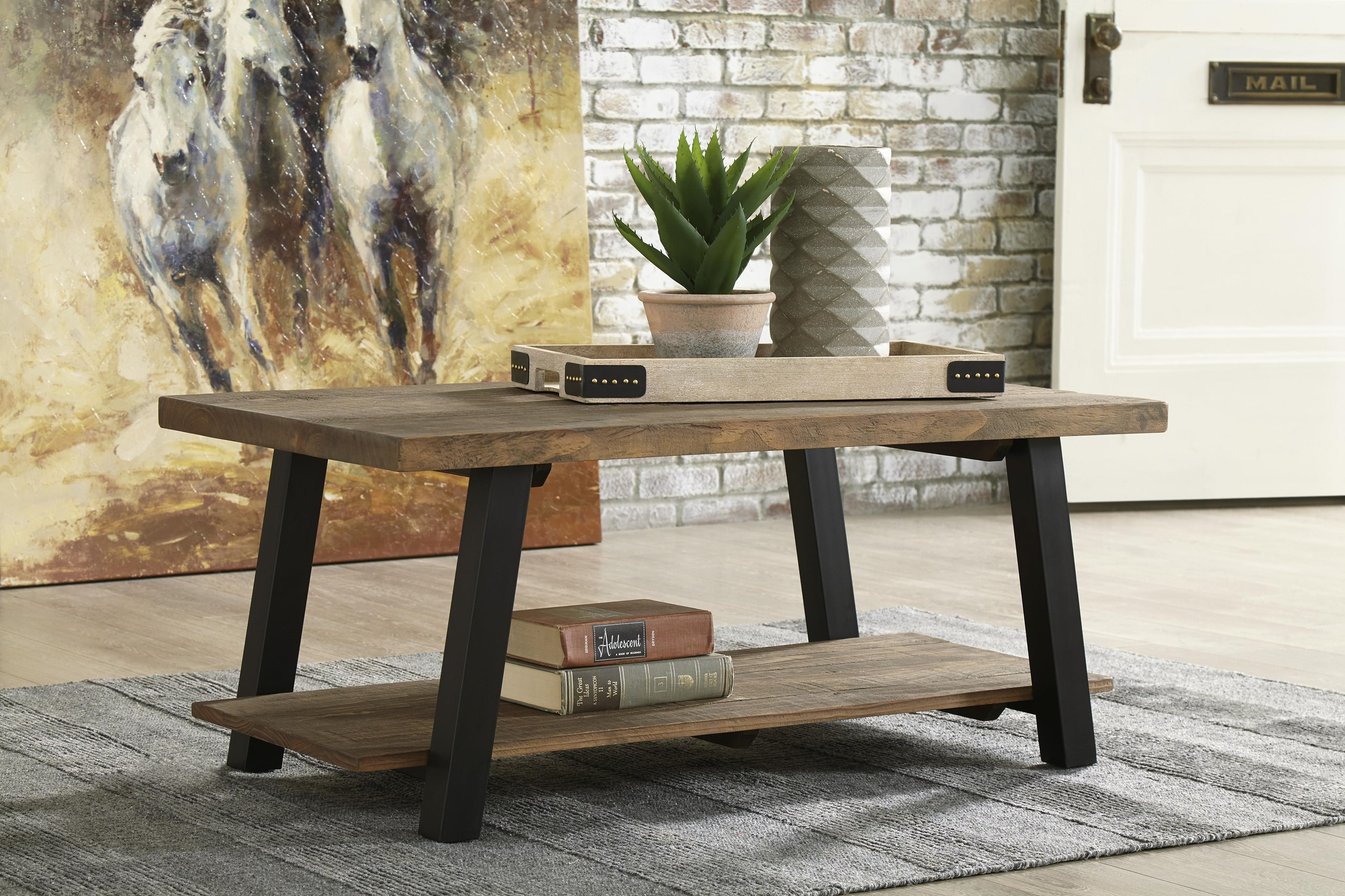 Chanzen 3 Piece Coffee Table Set by Signature Design by Ashley at Sam Levitz Furniture