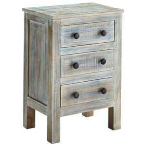 Signature Design by Ashley Charlowe Three Drawer Night Stand