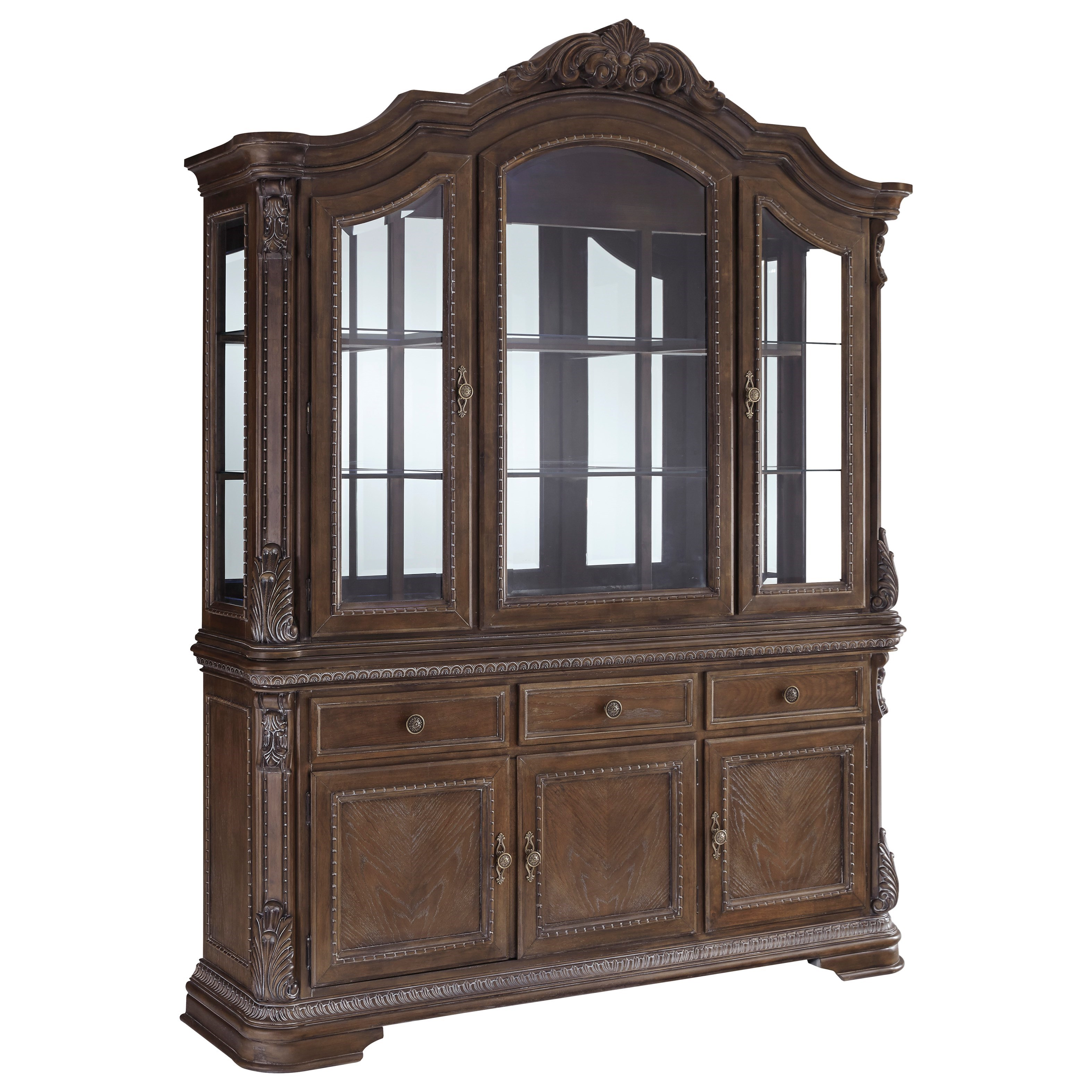 Charmond China Cabinet by Signature Design by Ashley at Houston's Yuma Furniture