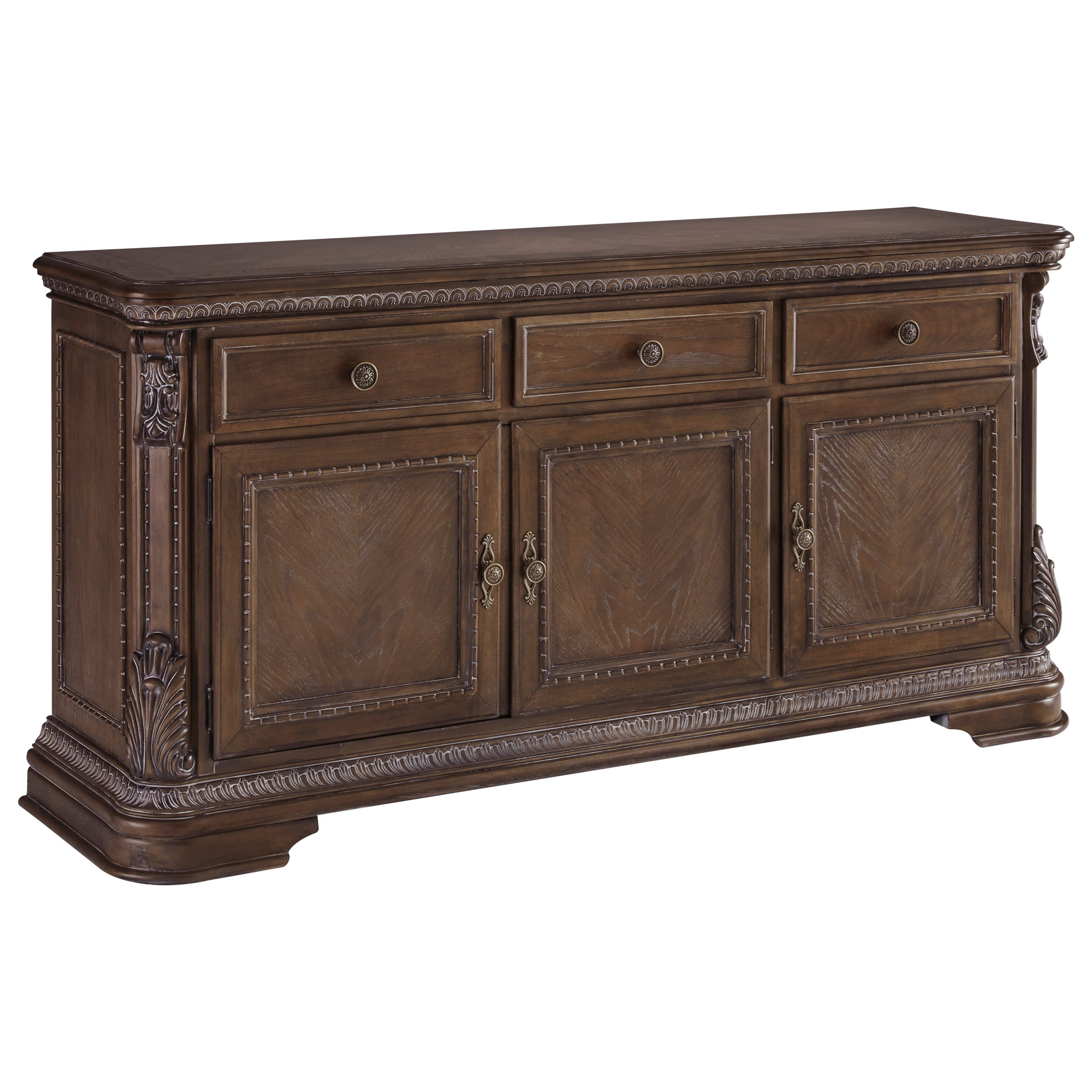 Charmond Dining Room Buffet by Signature Design by Ashley at Beck's Furniture