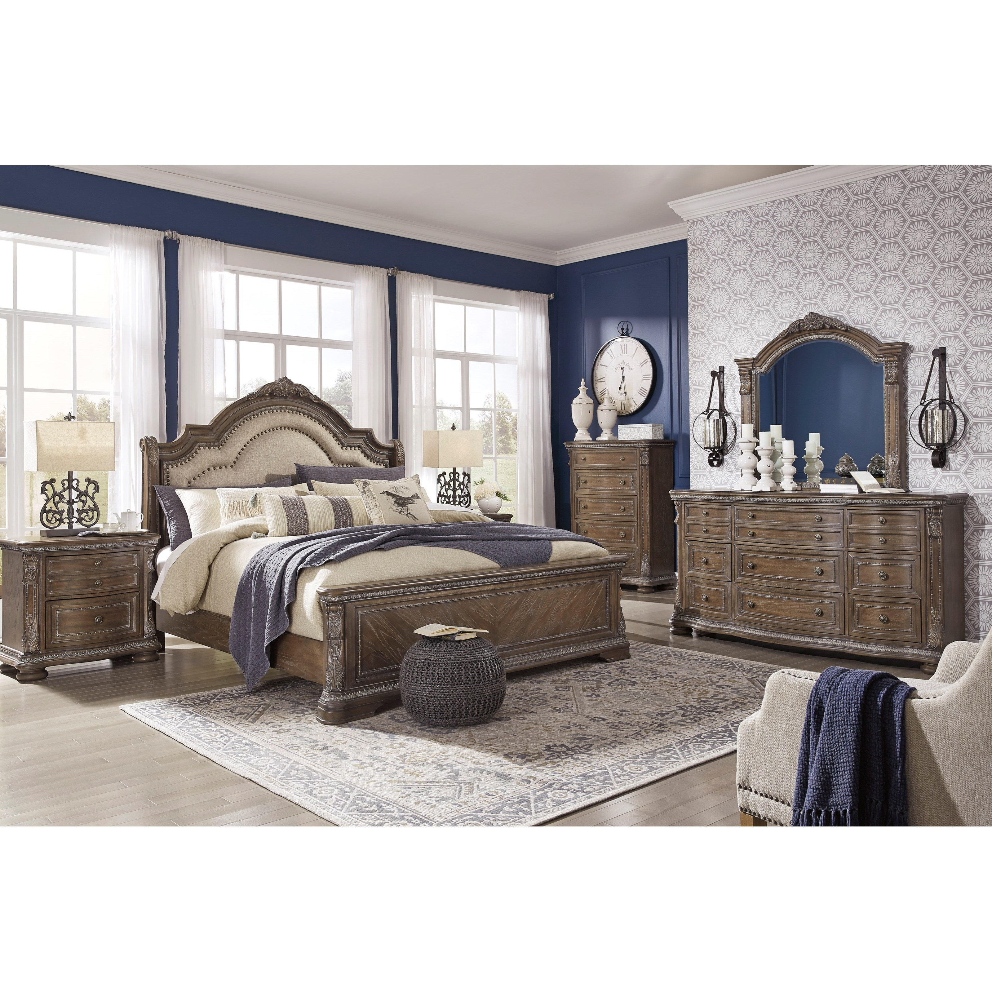 Charmond Queen Bedroom Group by Ashley (Signature Design) at Johnny Janosik