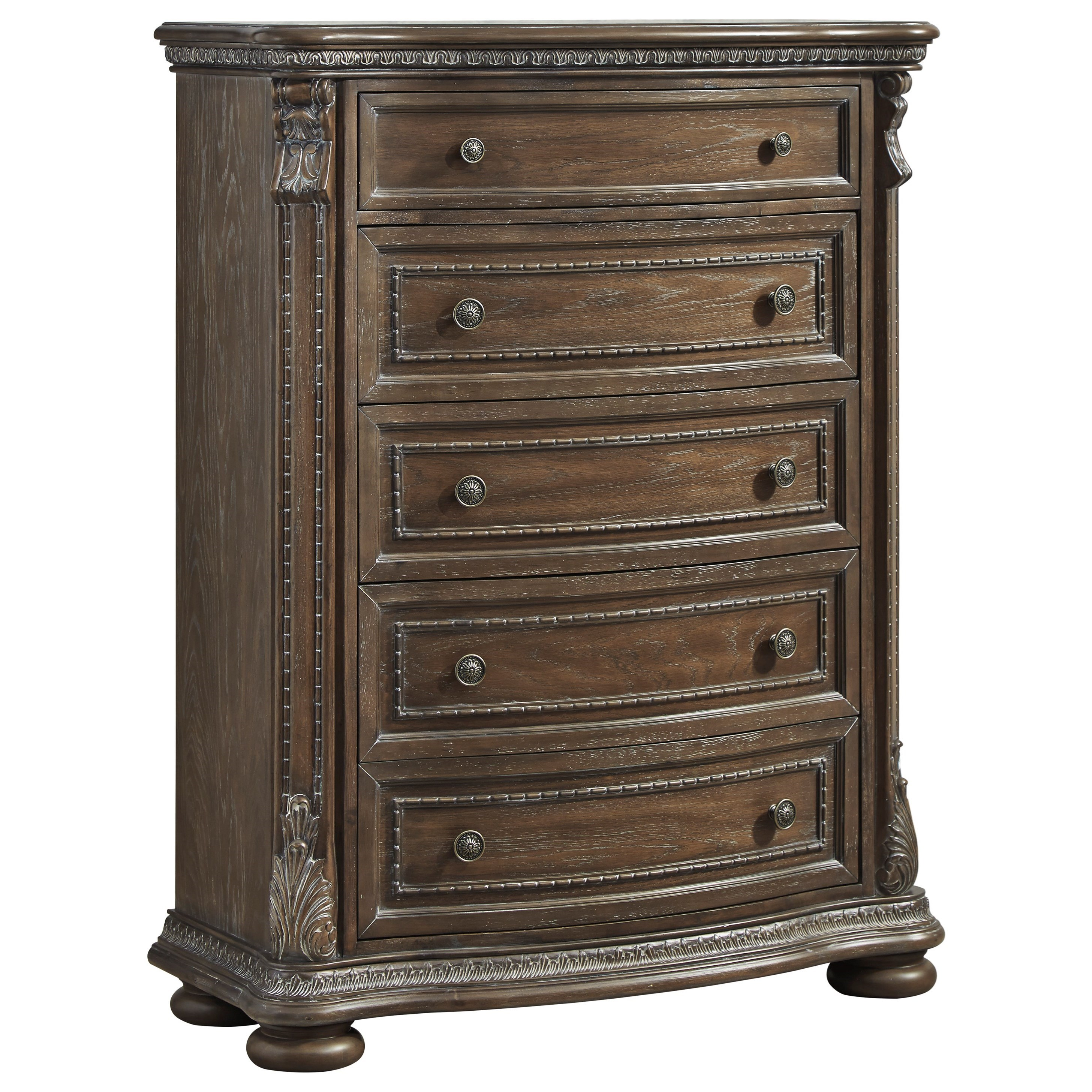 Charmond Five Drawer Chest by Signature Design by Ashley at Furniture Barn