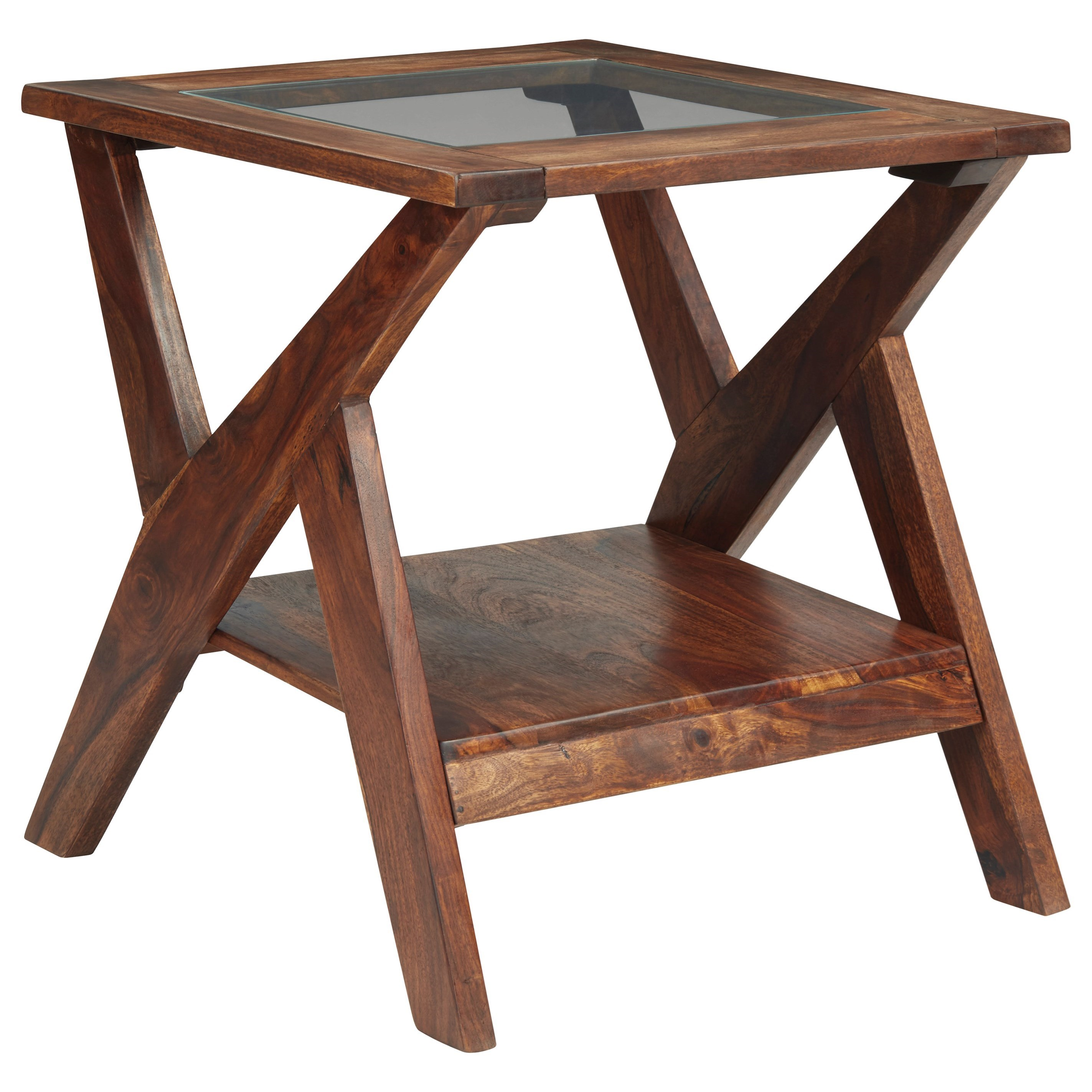 Charzine Rectangular End Table by Signature Design by Ashley at HomeWorld Furniture