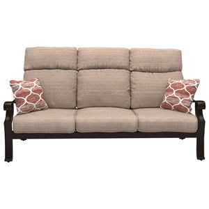 High Back Sofa with Cushion