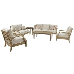 Sofa, Loveseat and 2 Lounge Chairs Set