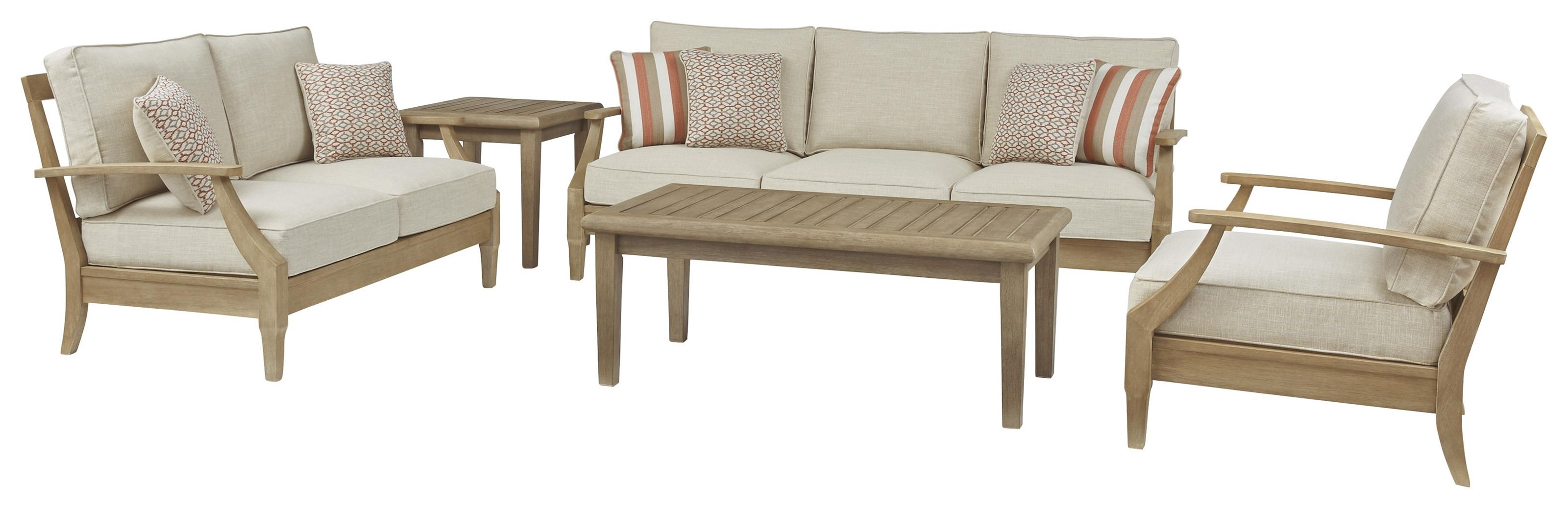 Clare View 3 PC Outdoor Conversation Set by Signature Design by Ashley at Sam Levitz Outlet