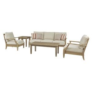 Sofa and 2 Lounge Chairs Set