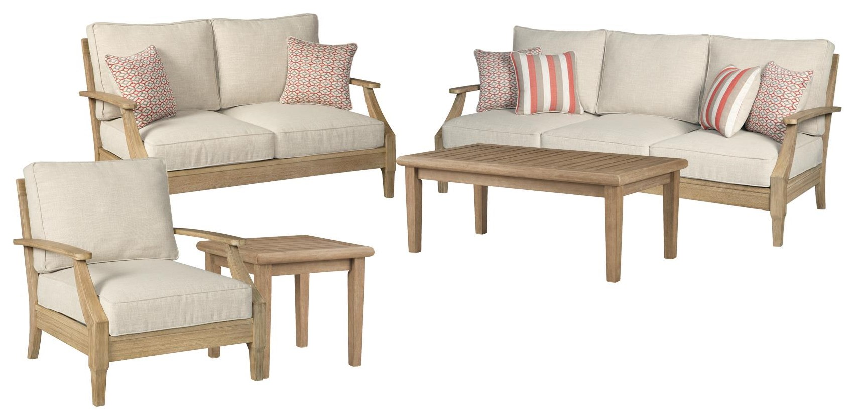 Clare View SOFA, LOVESEAT, CHAIR, COCKTAIL, END TABLE by Ashley (Signature Design) at Johnny Janosik
