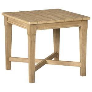 Casual Square End Table