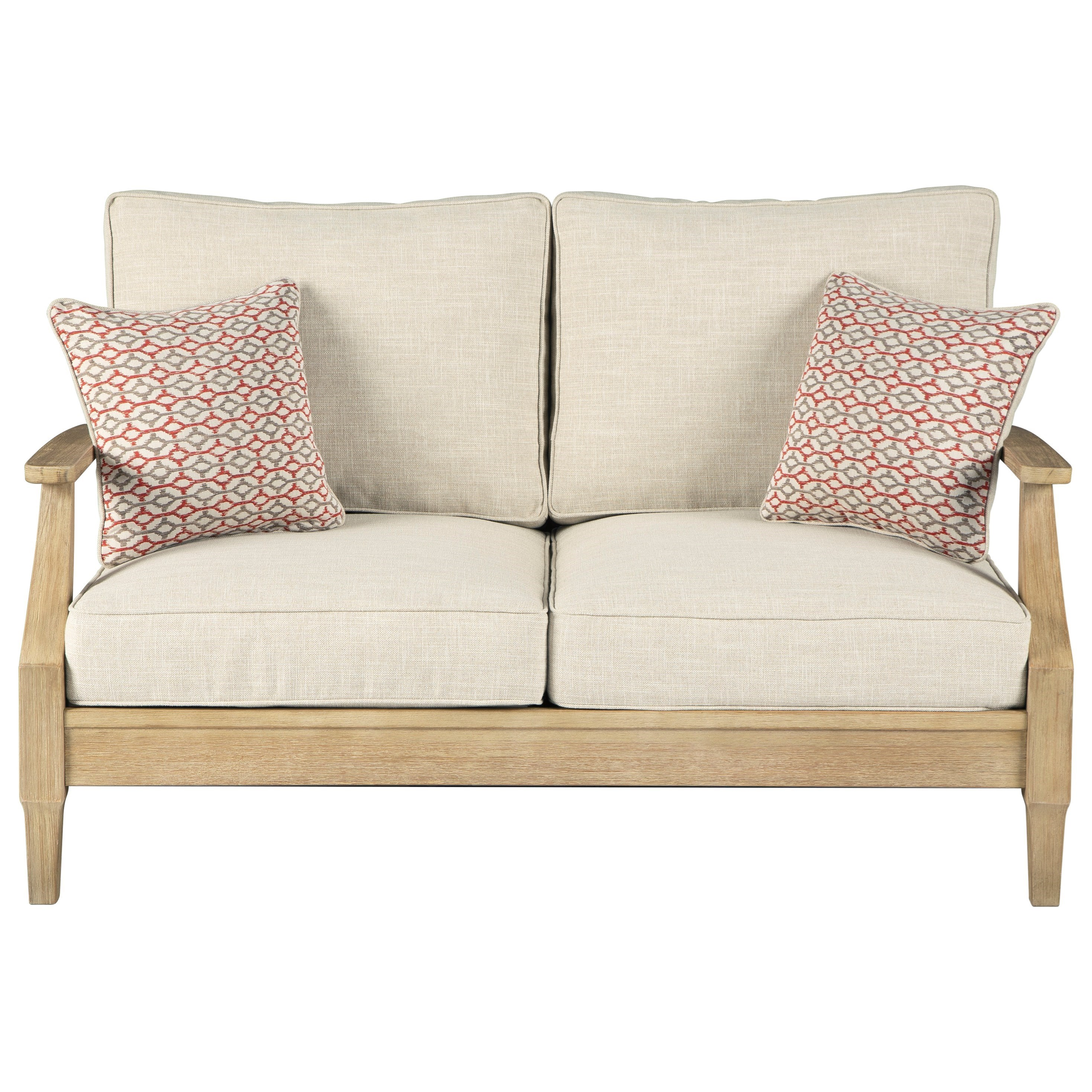 Clare View Loveseat w/ Cushion by Ashley (Signature Design) at Johnny Janosik