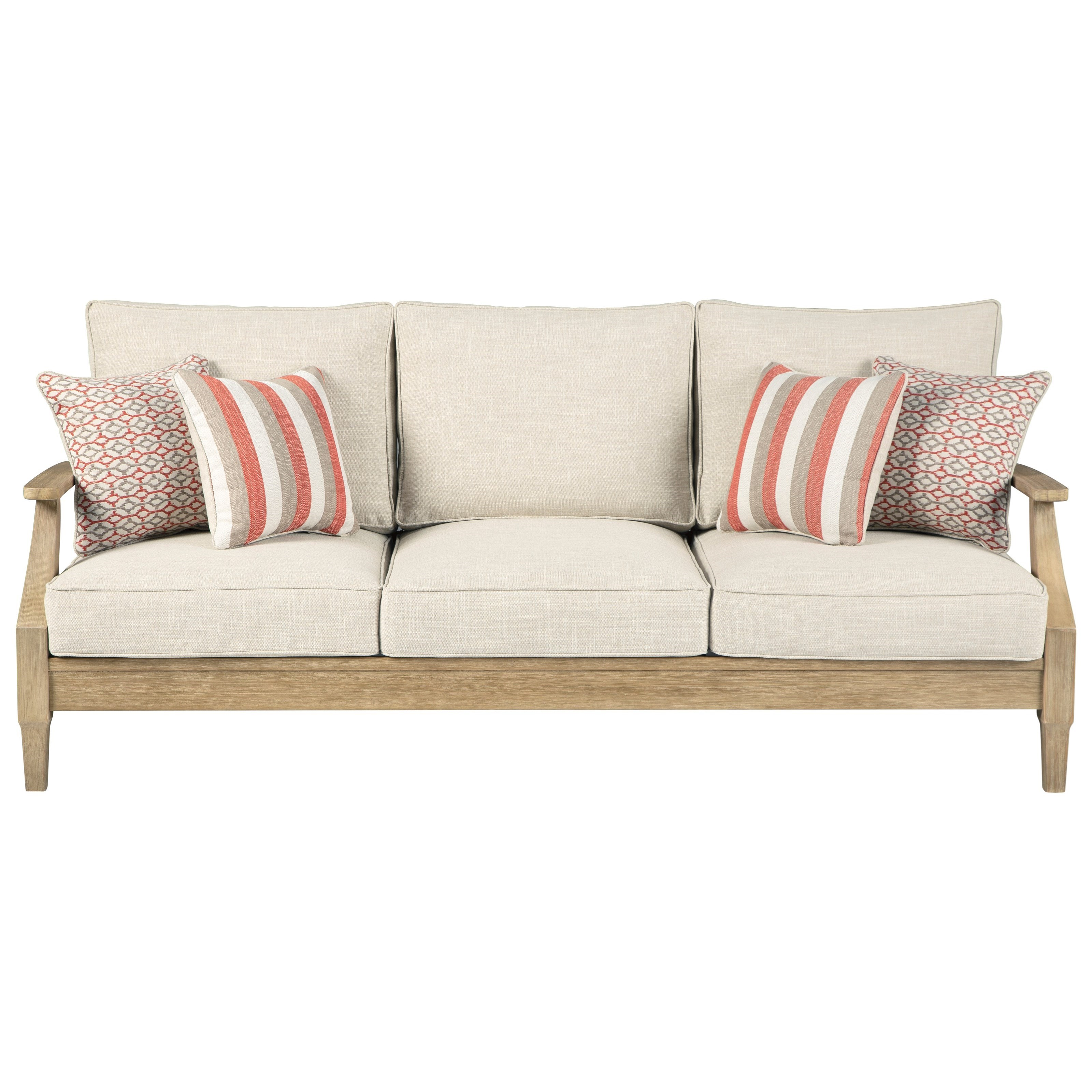 Clare View Sofa with Cushion by Signature at Walker's Furniture