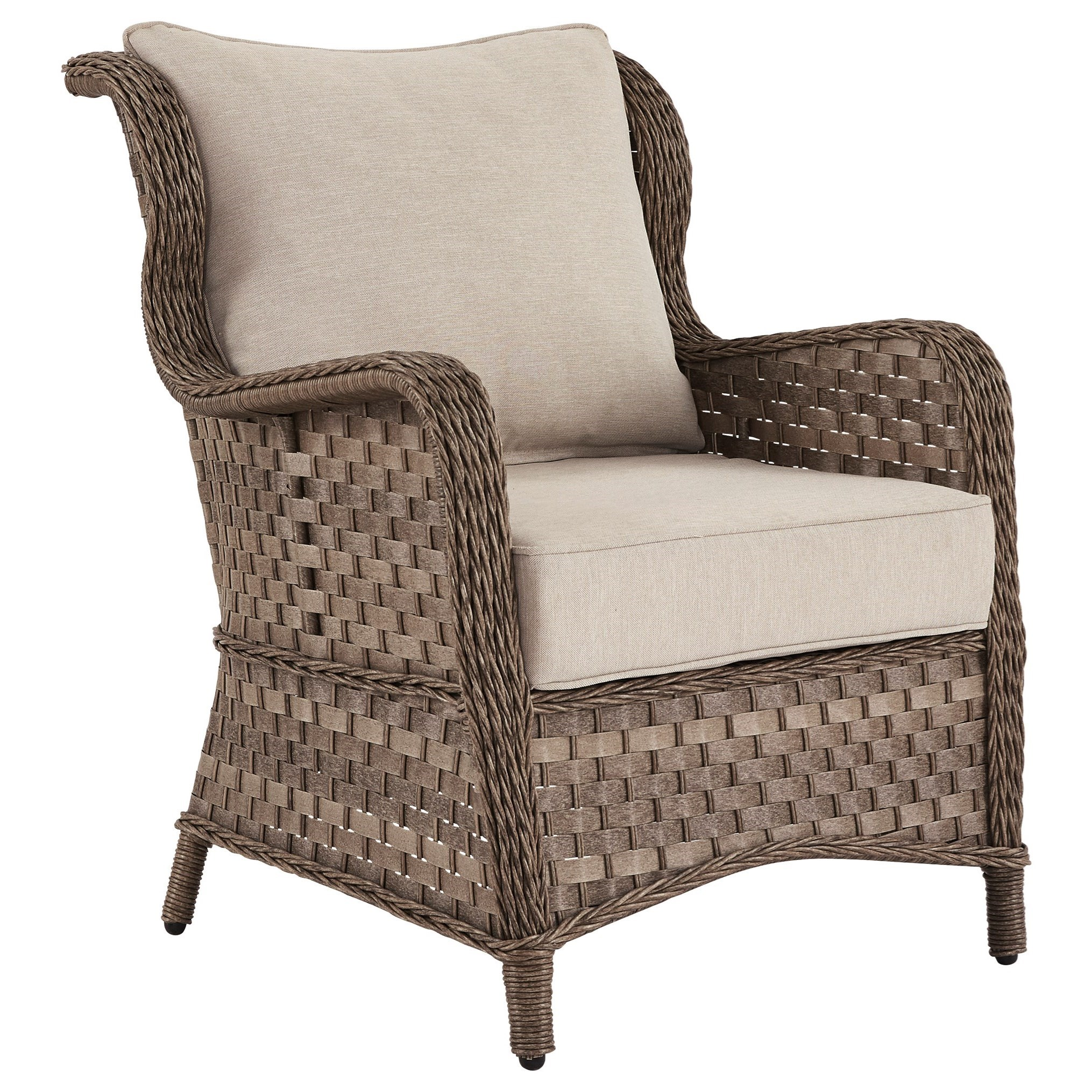 Clear Ridge Lounge Chair w/ Cushion by Signature Design by Ashley at Goffena Furniture & Mattress Center