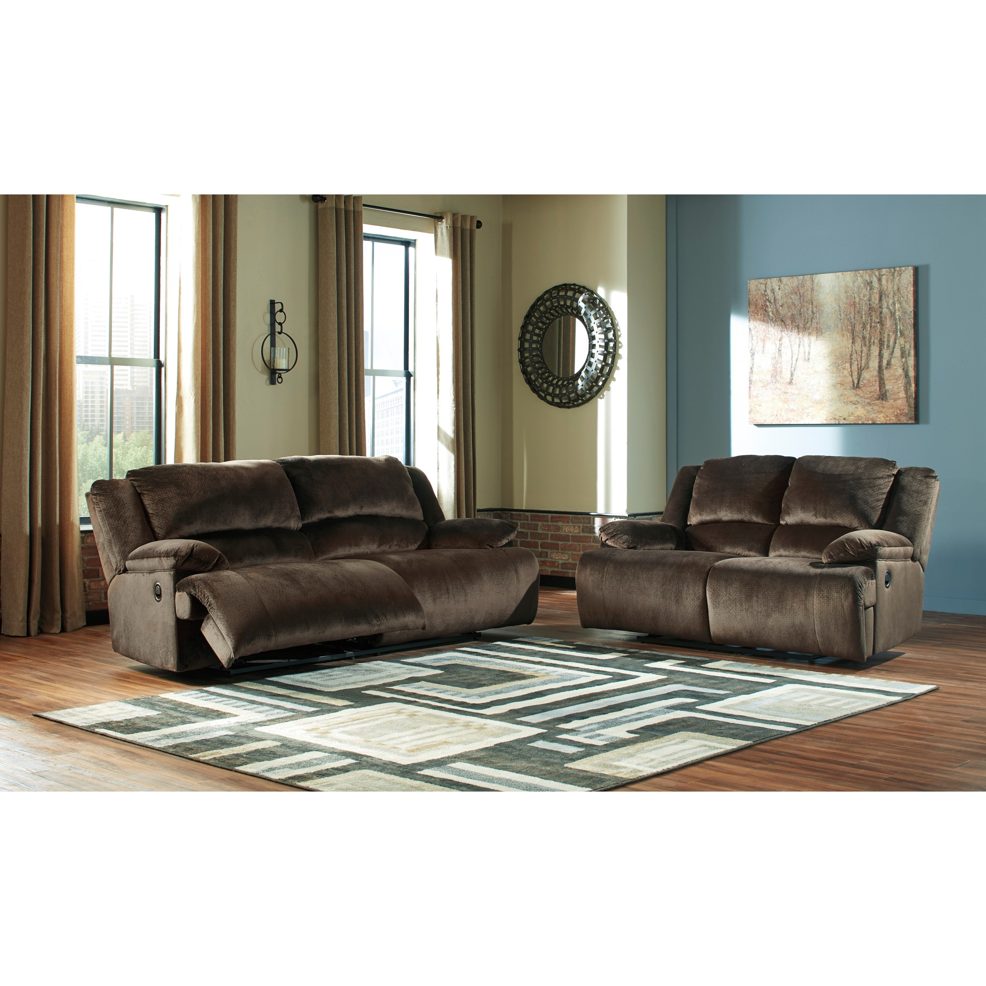 Clonmel Reclining Living Room Group by Ashley (Signature Design) at Johnny Janosik