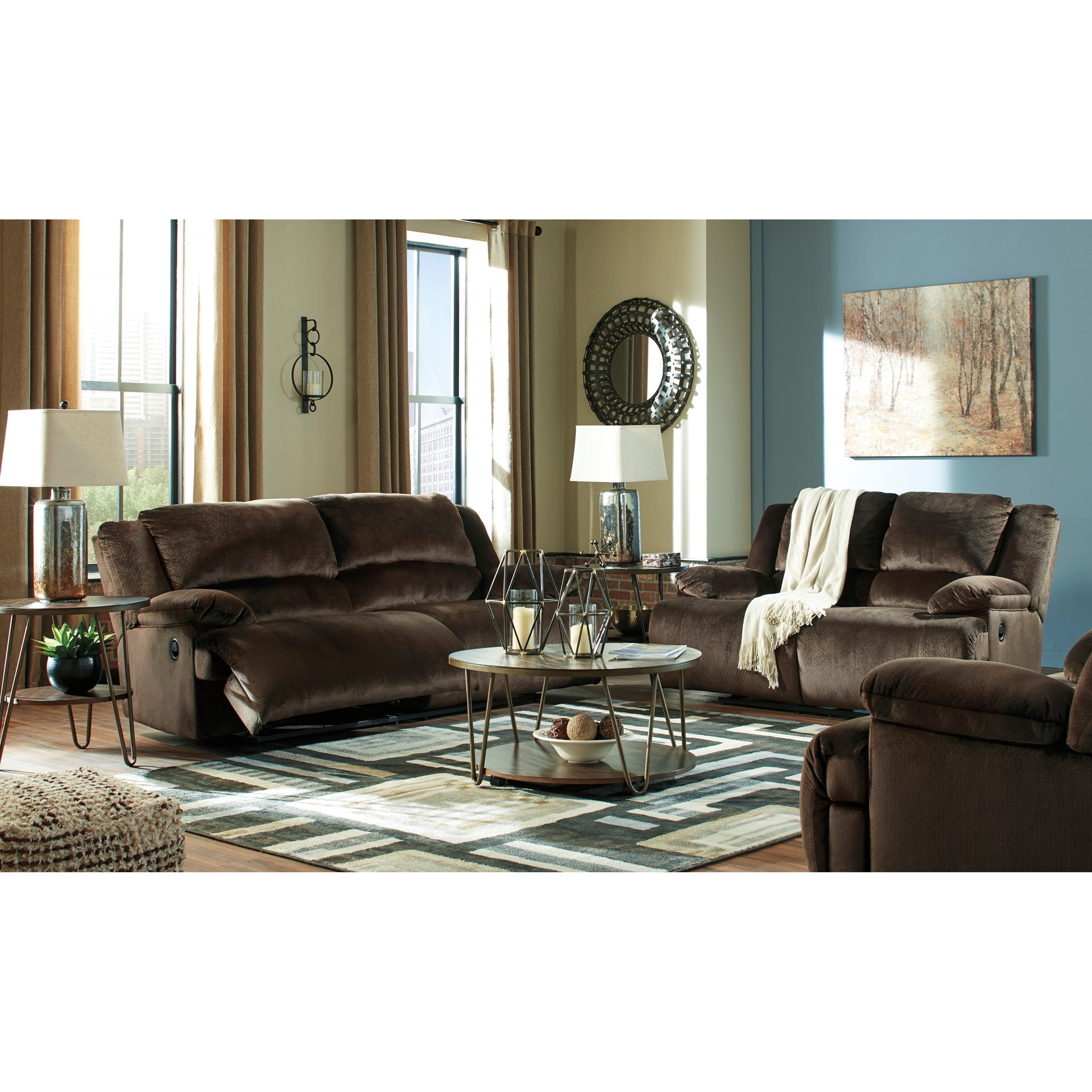 Clonmel Power Reclining Living Room Group by Signature Design by Ashley at Zak's Warehouse Clearance Center