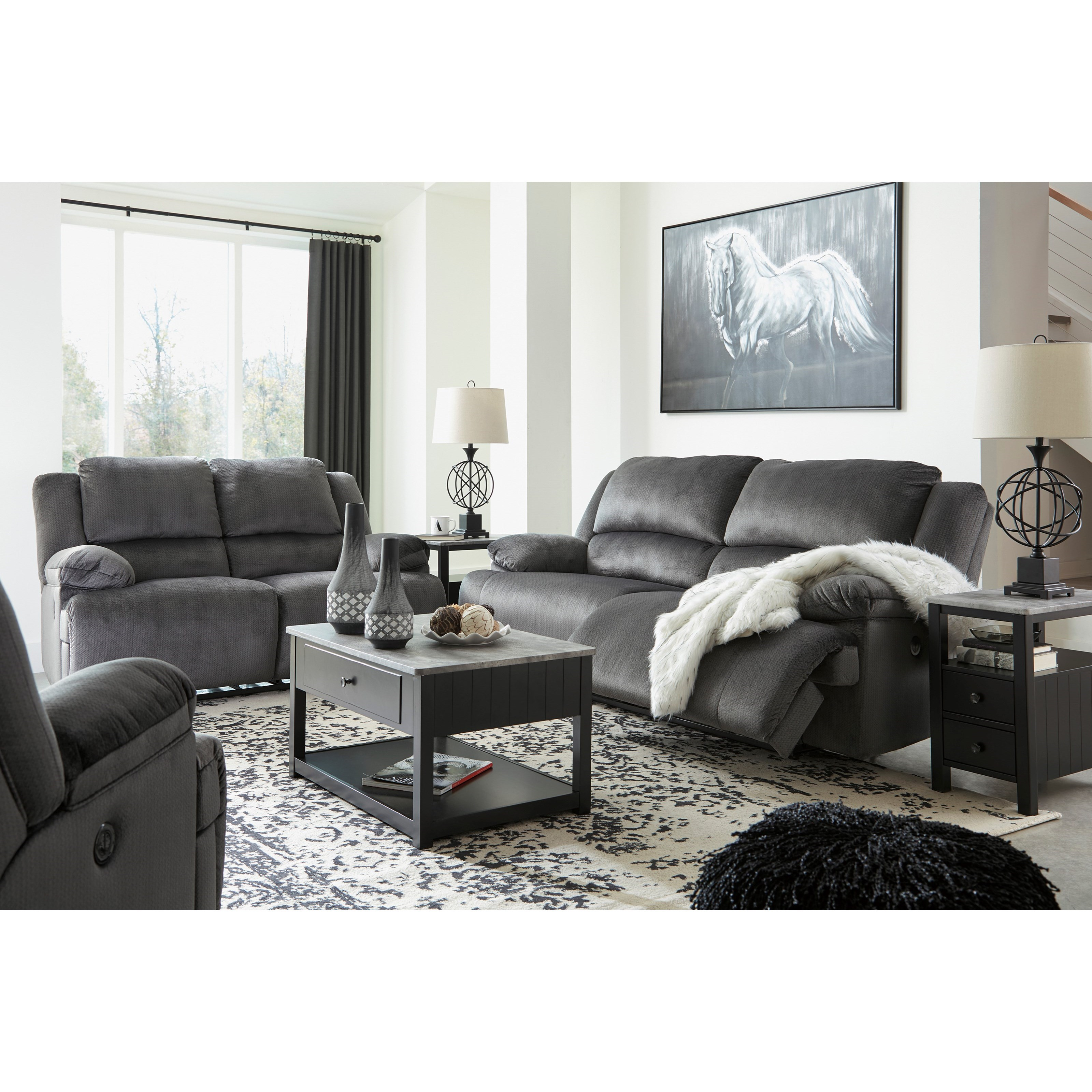 Clonmel Reclining Living Room Group by Signature Design by Ashley at Northeast Factory Direct