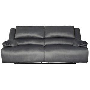 Contemporary 2 Seat Reclining Sofa